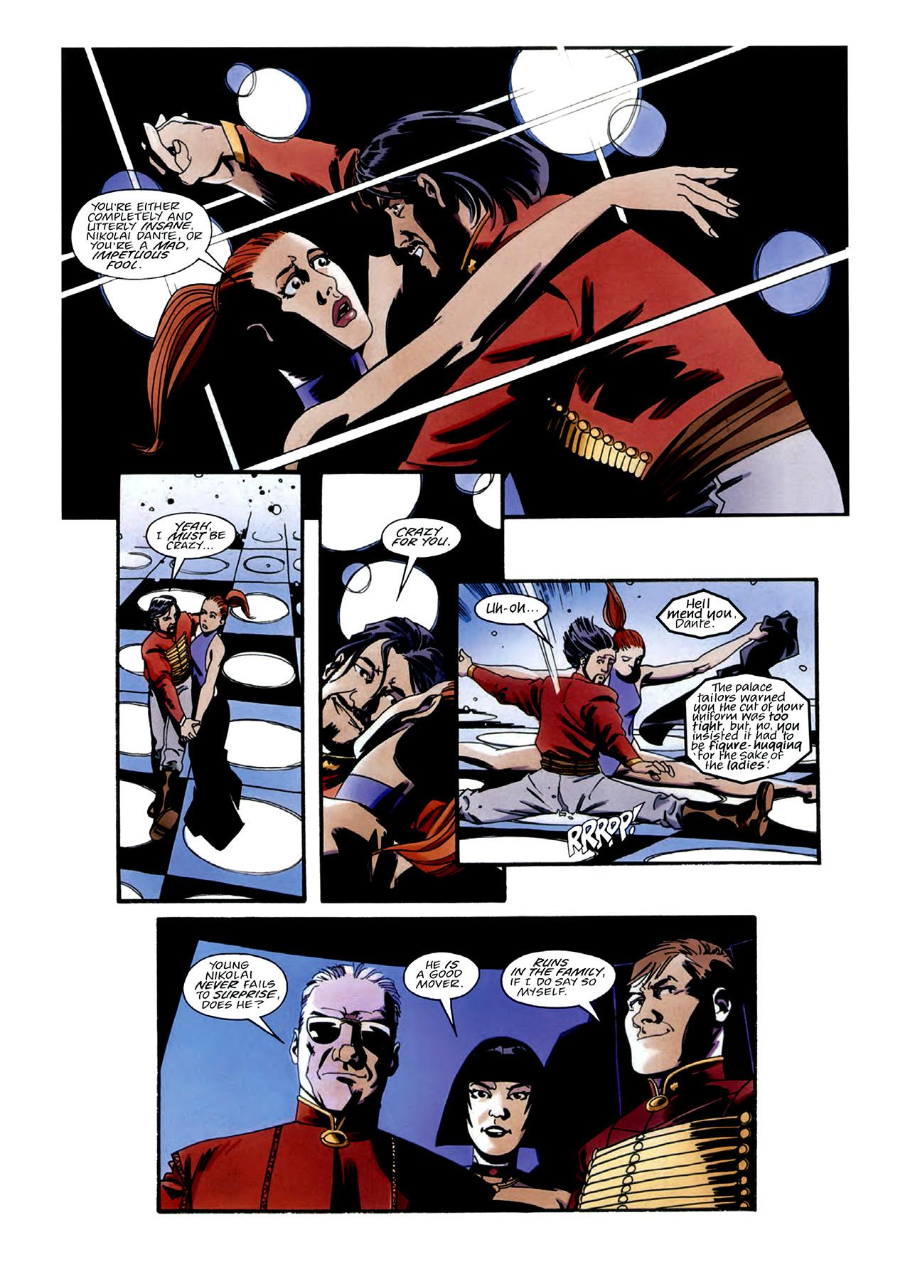 Read online Nikolai Dante comic -  Issue # TPB 3 - 22