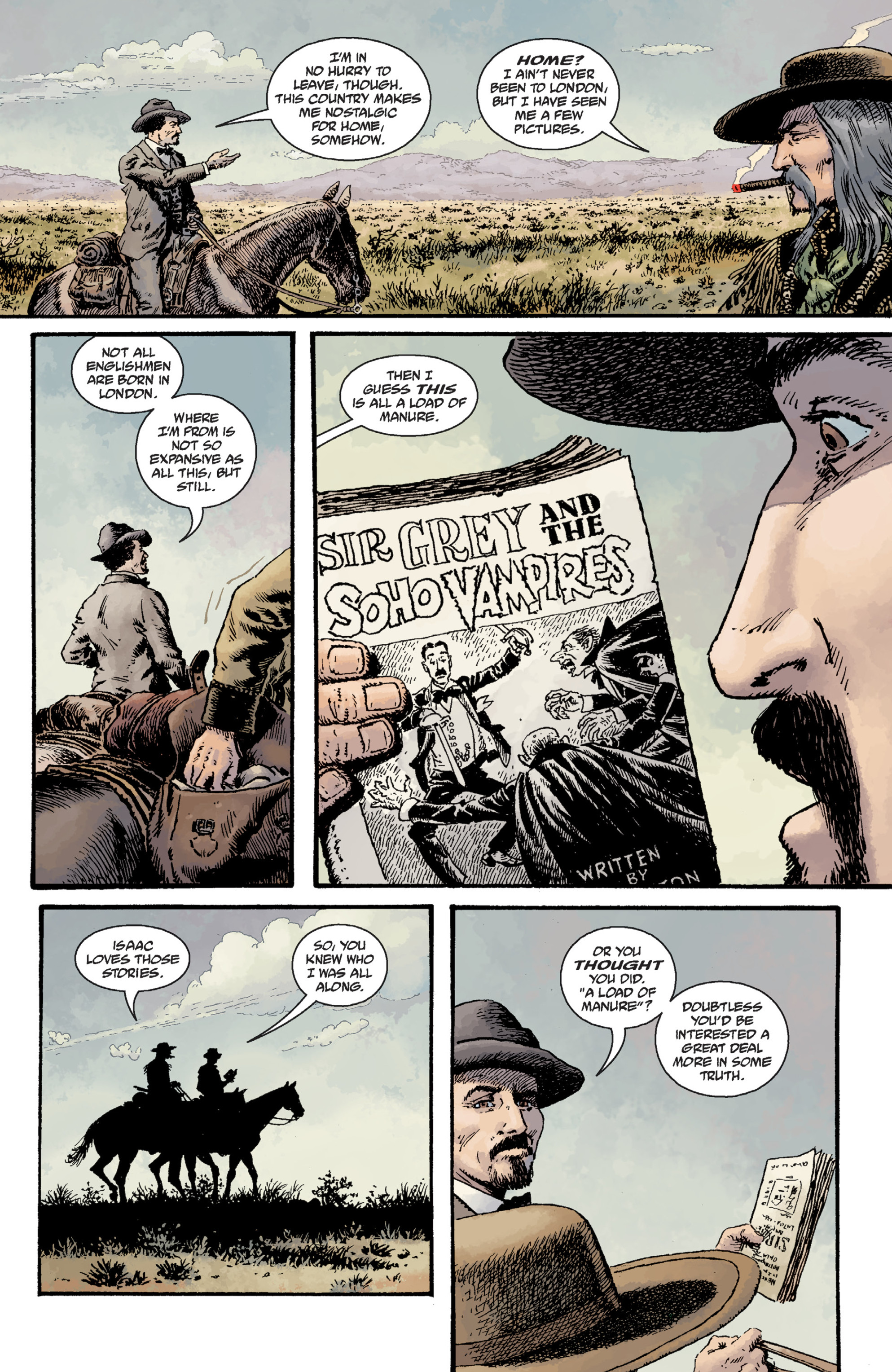 Read online Sir Edward Grey, Witchfinder: Lost and Gone Forever comic -  Issue # TPB - 40