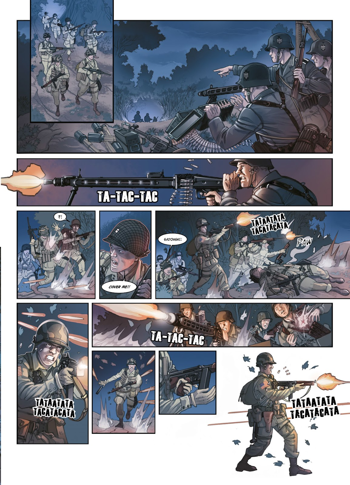 Read online Opération Overlord comic -  Issue #1 - 18