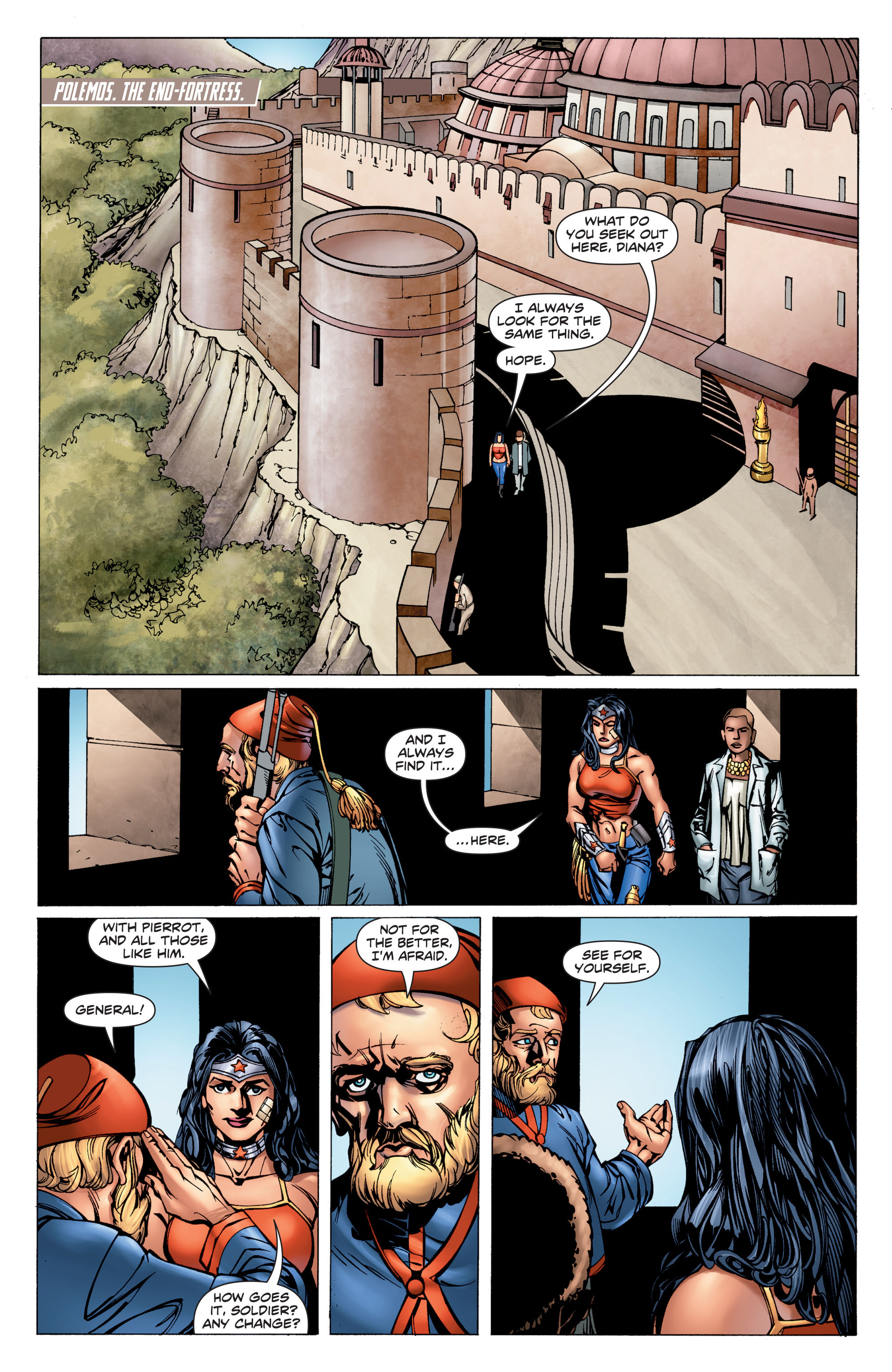 Read online Wonder Woman: Futures End comic -  Issue # Full - 12
