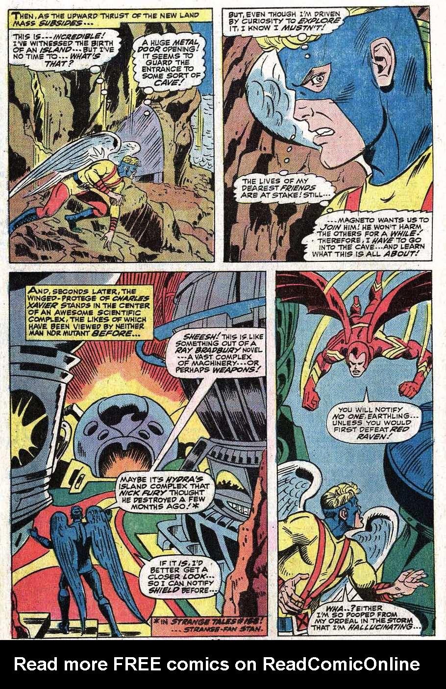 Read online Uncanny X-Men (1963) comic -  Issue #92 - 15