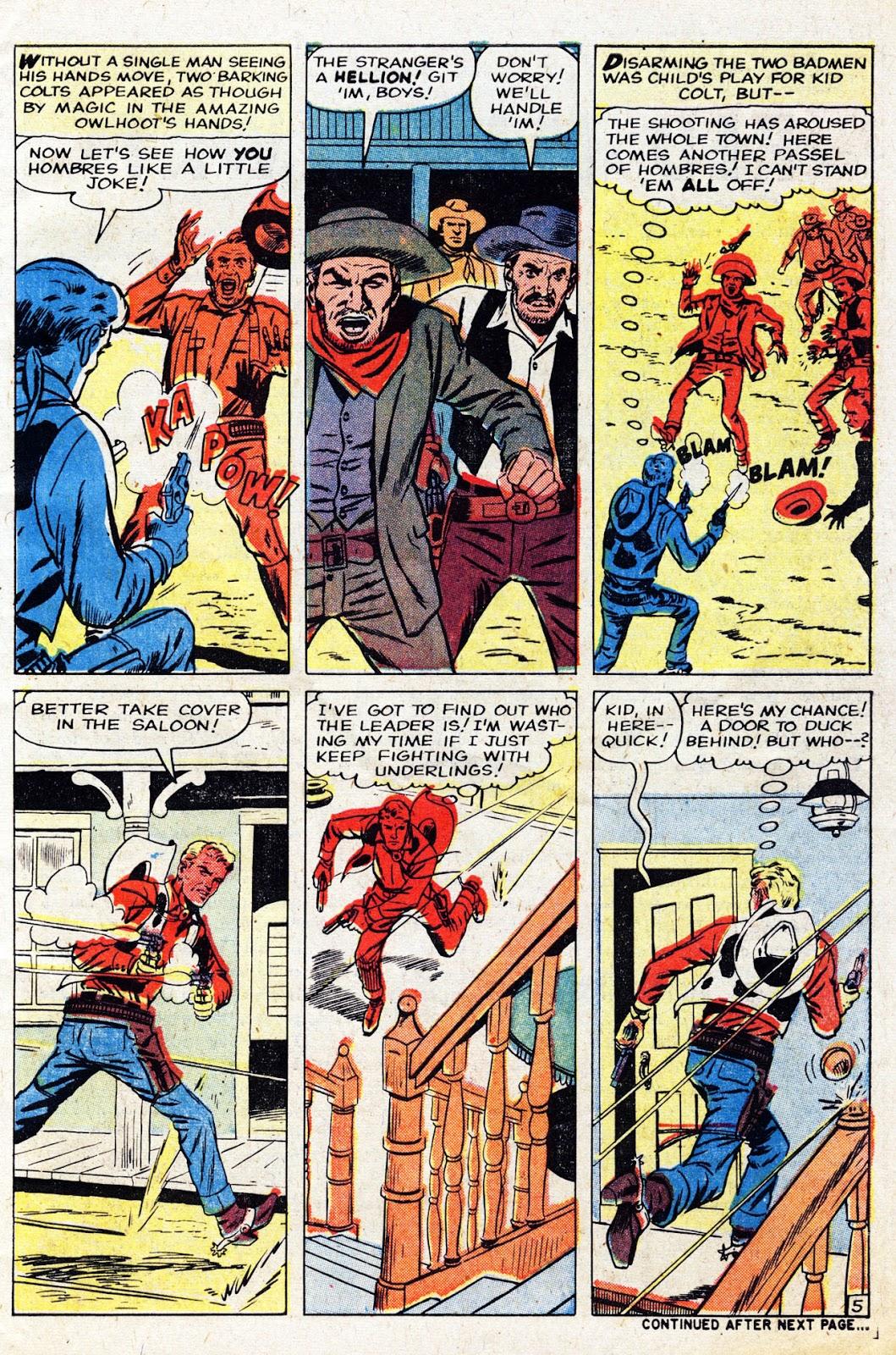 Gunsmoke Western issue 61 - Page 7