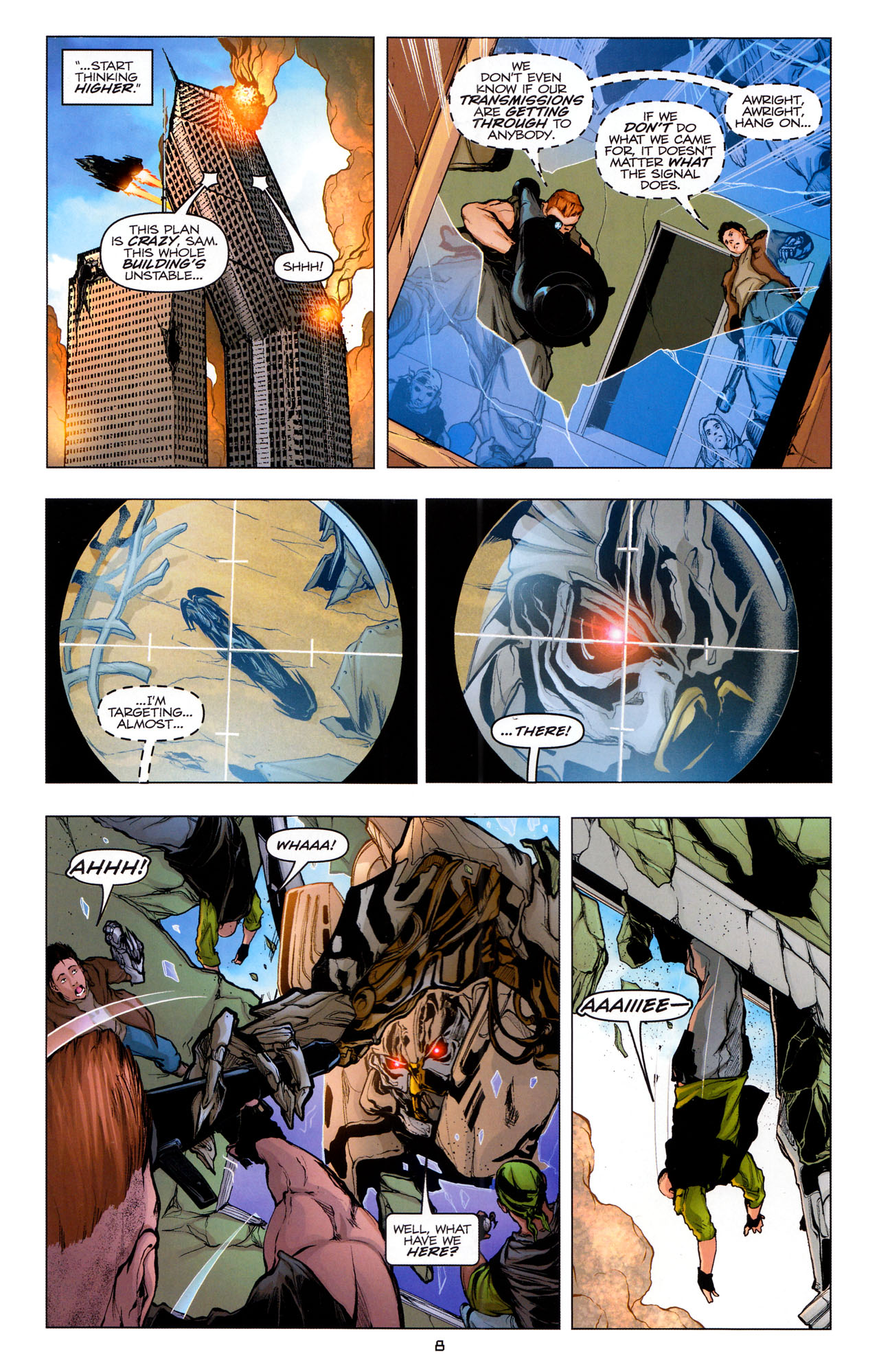 Read online Transformers: Dark of the Moon Movie Adaptation comic -  Issue #4 - 10