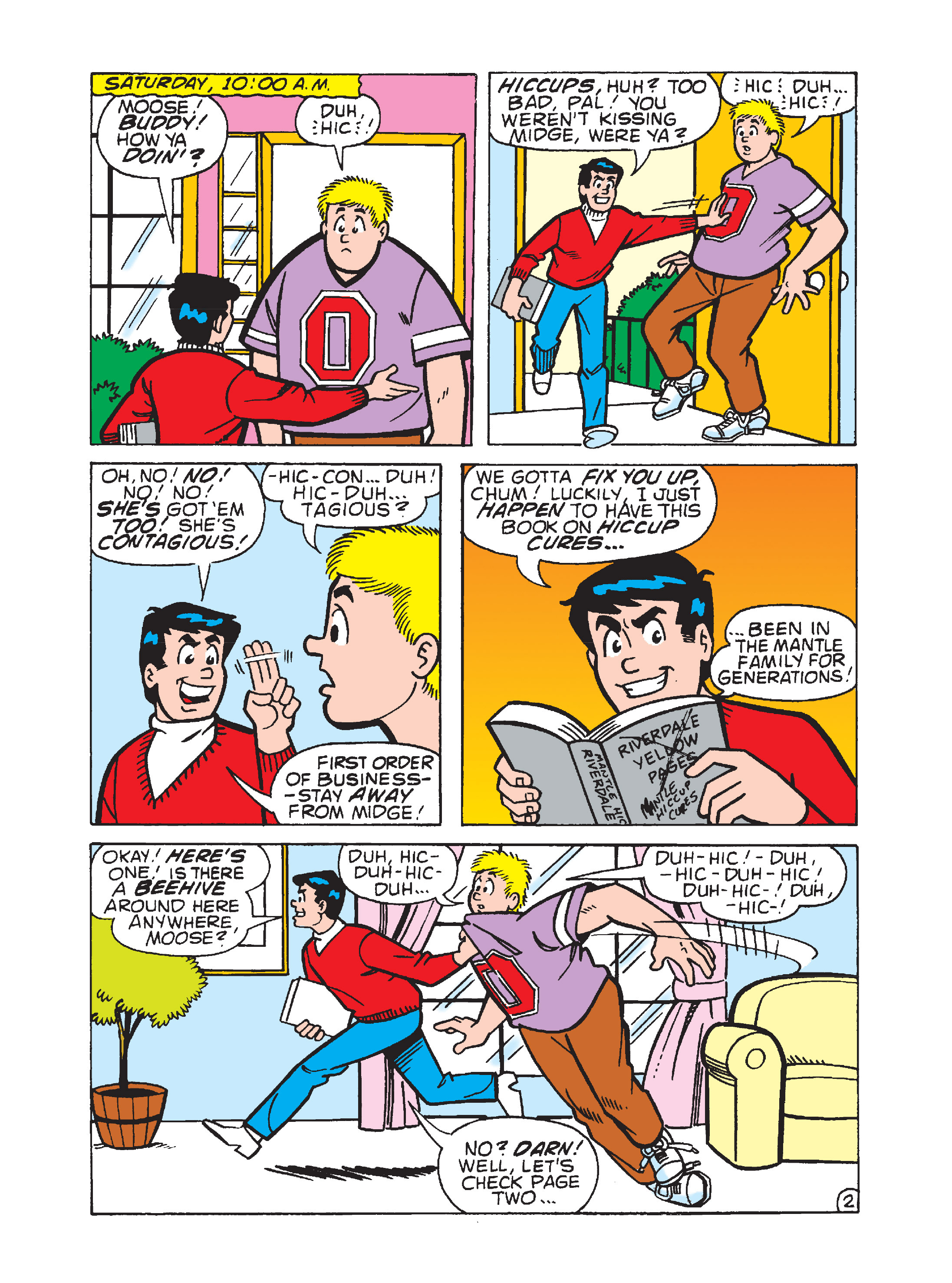 Read online Archie's Funhouse Double Digest comic -  Issue #8 - 69