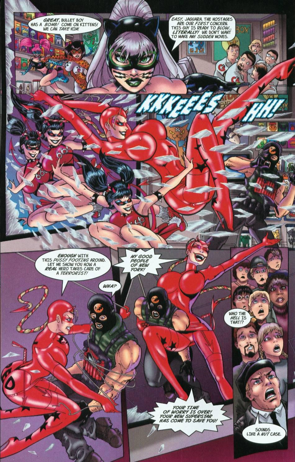 Read online 3 Little Kittens: Purrr-fect Weapons comic -  Issue #1 - 16