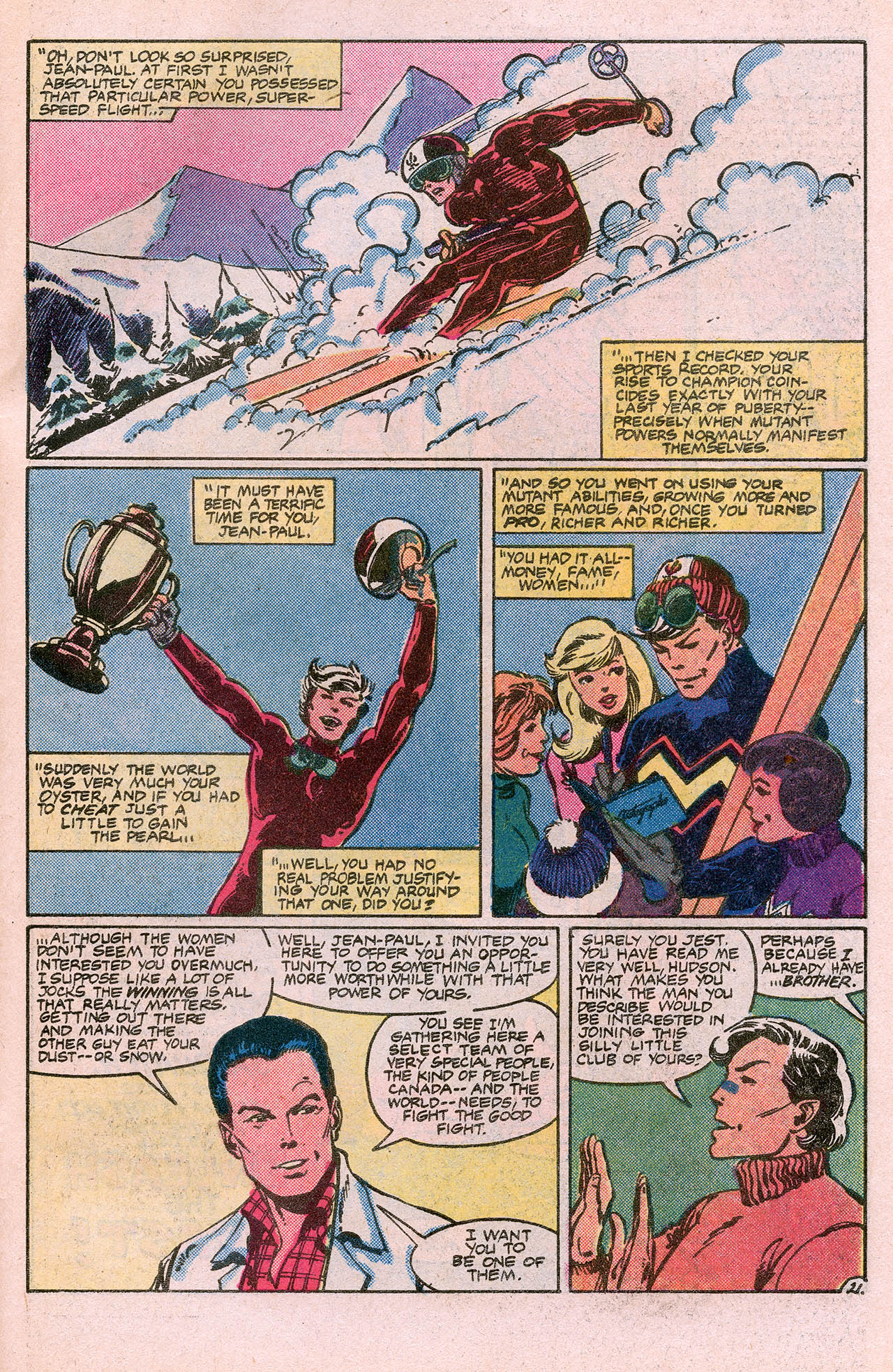 Read online Alpha Flight (1983) comic -  Issue #10 - 31