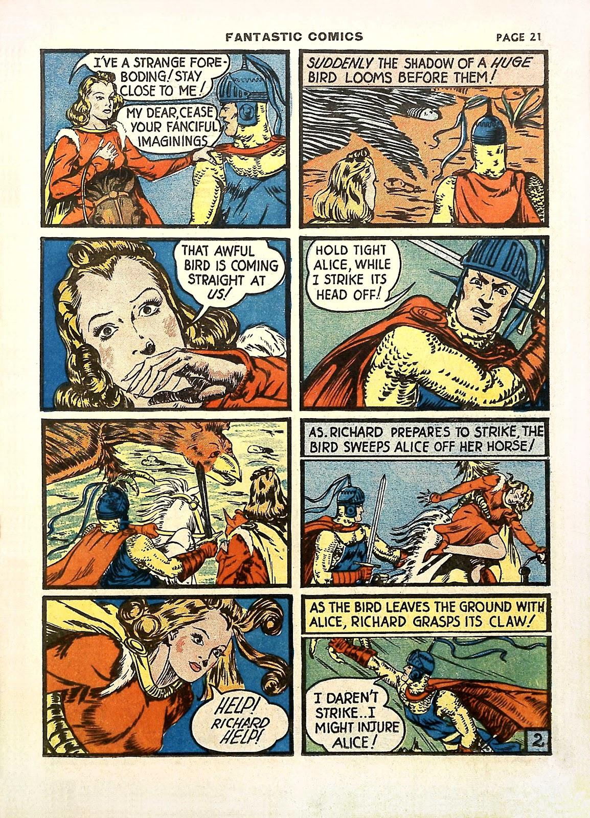 Read online Fantastic Comics comic -  Issue #11 - 24