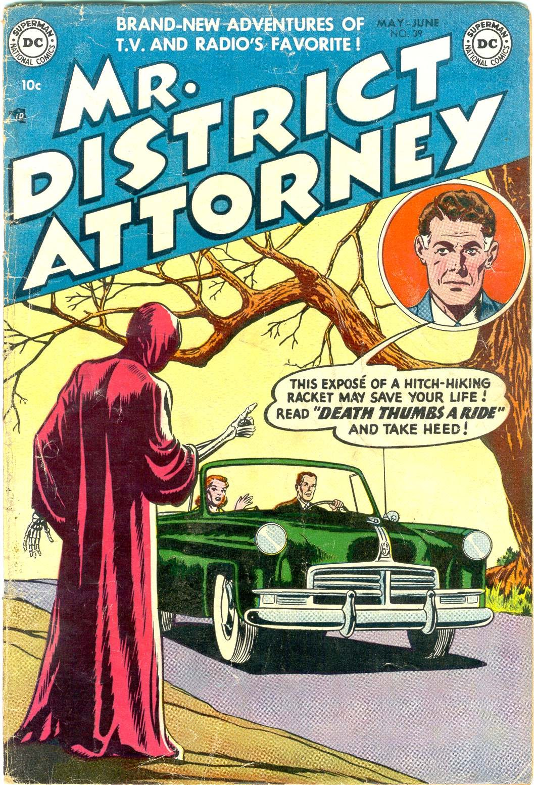 Mr. District Attorney issue 39 - Page 1