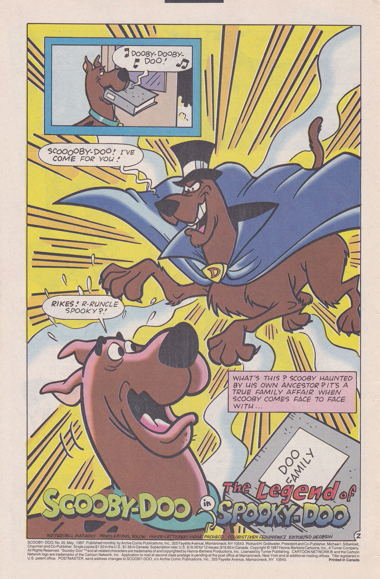 Read online Scooby-Doo (1995) comic -  Issue #20 - 4