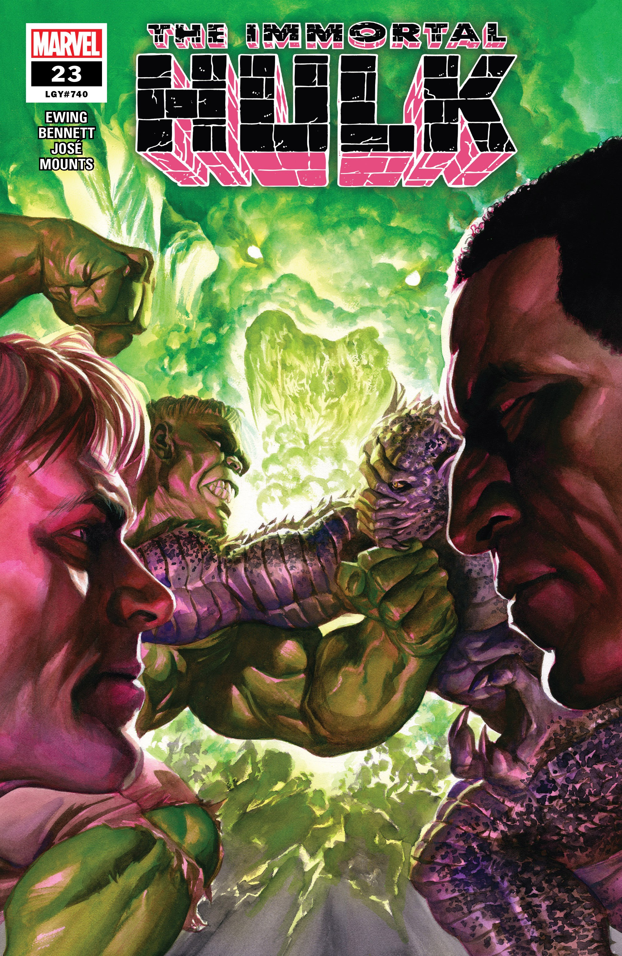 Immortal Hulk (2018) issue 23 - Page 1