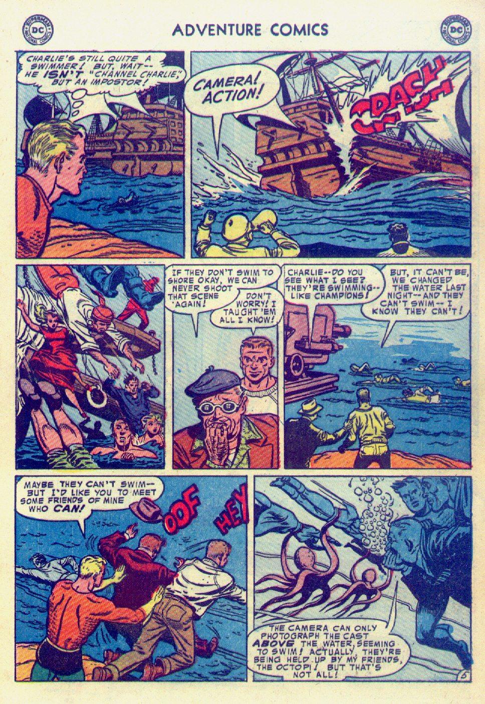 Read online Adventure Comics (1938) comic -  Issue #201 - 21