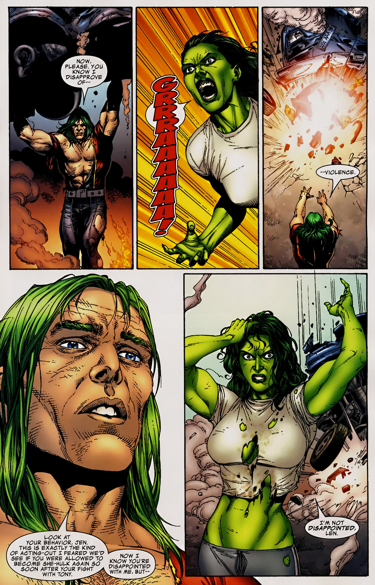 Read online The Incredible Hulk (2000) comic -  Issue #106 - 18