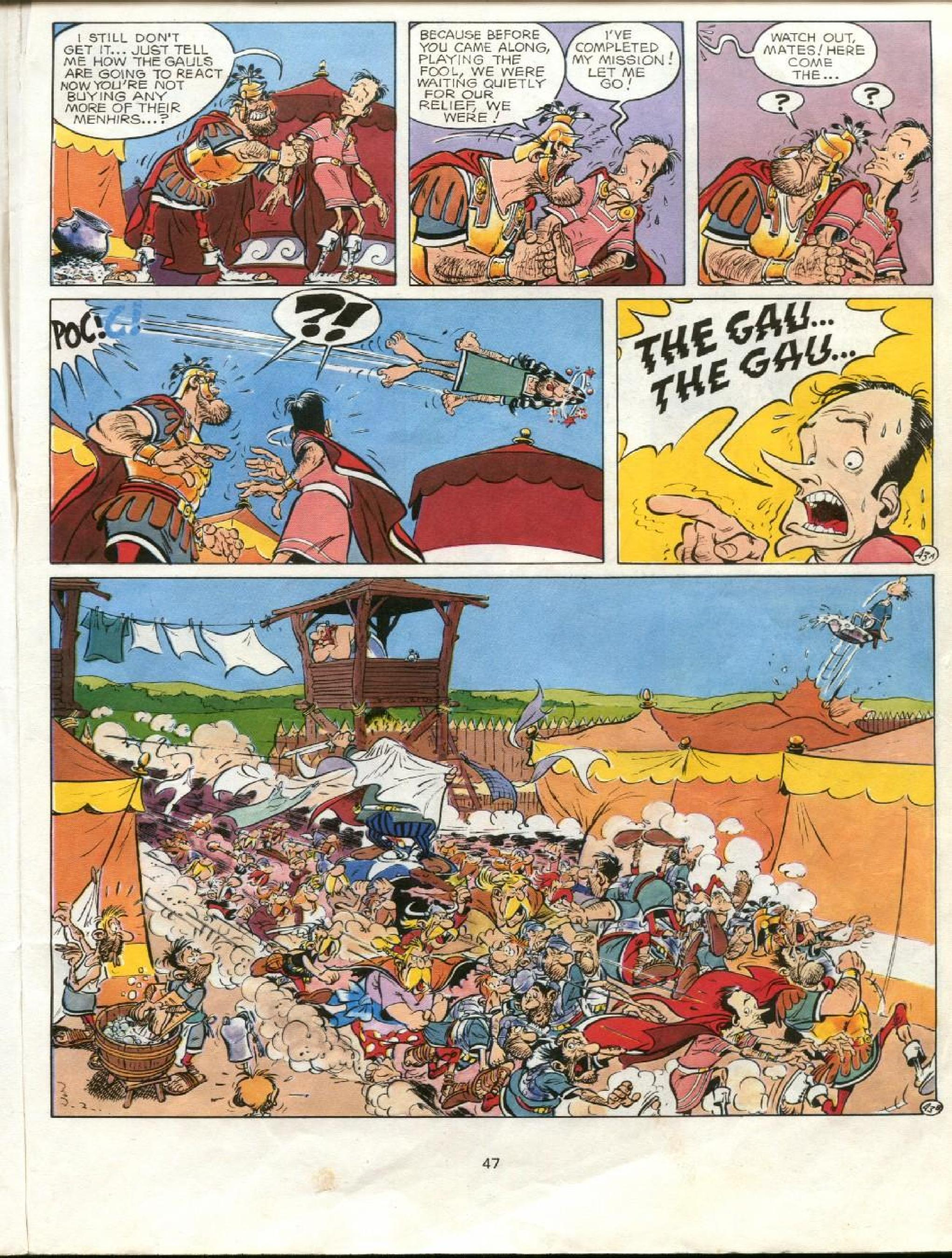 Read online Asterix comic -  Issue #23 - 44