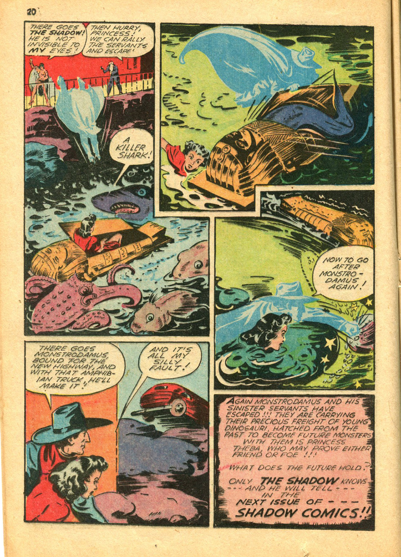 Read online Shadow Comics comic -  Issue #30 - 20