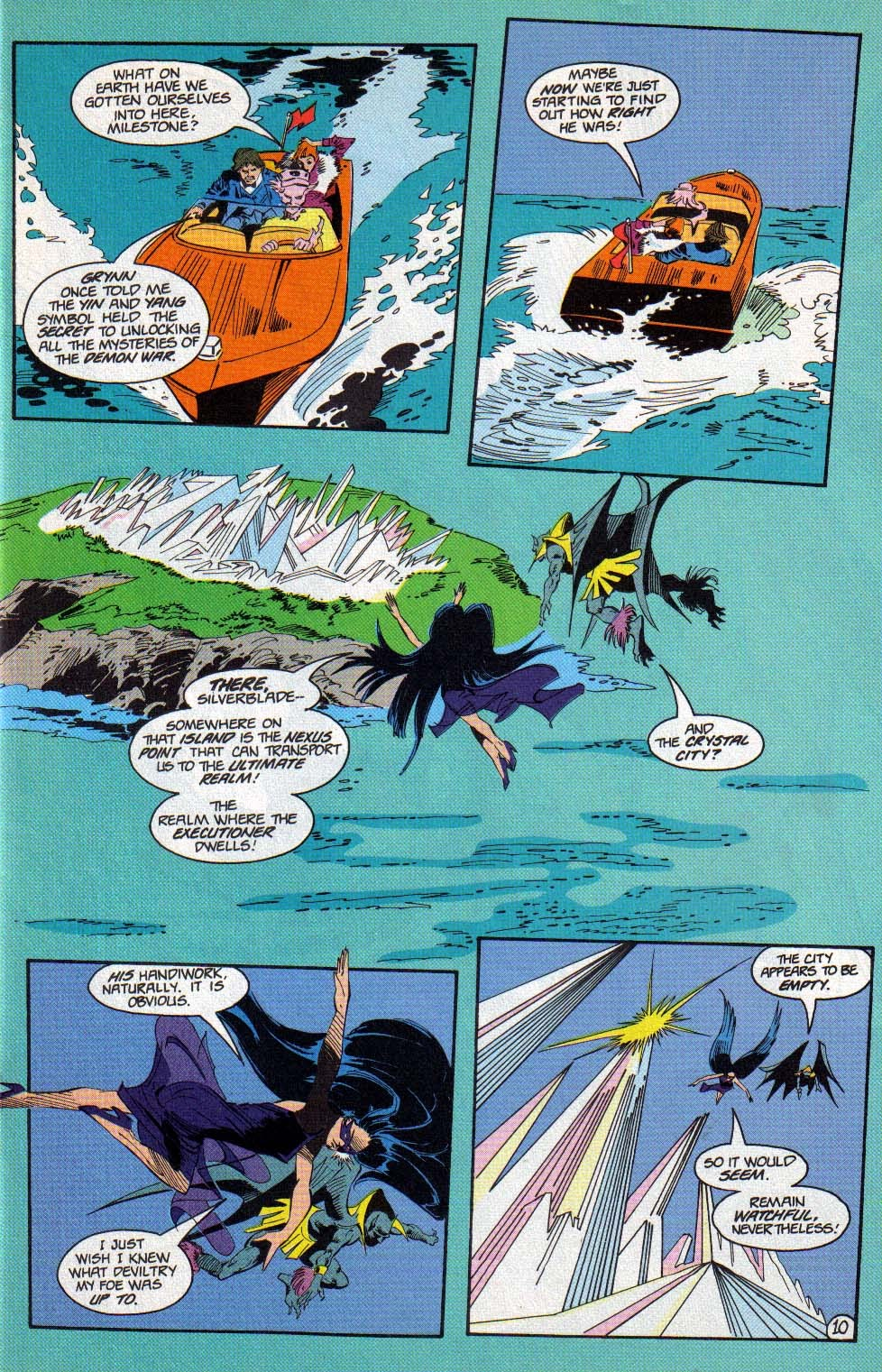 Silverblade issue 11 - Page 10