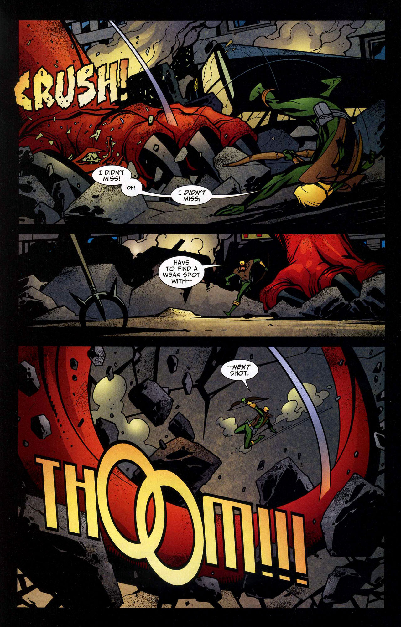 Read online Connor Hawke:  Dragon's Blood comic -  Issue #5 - 16