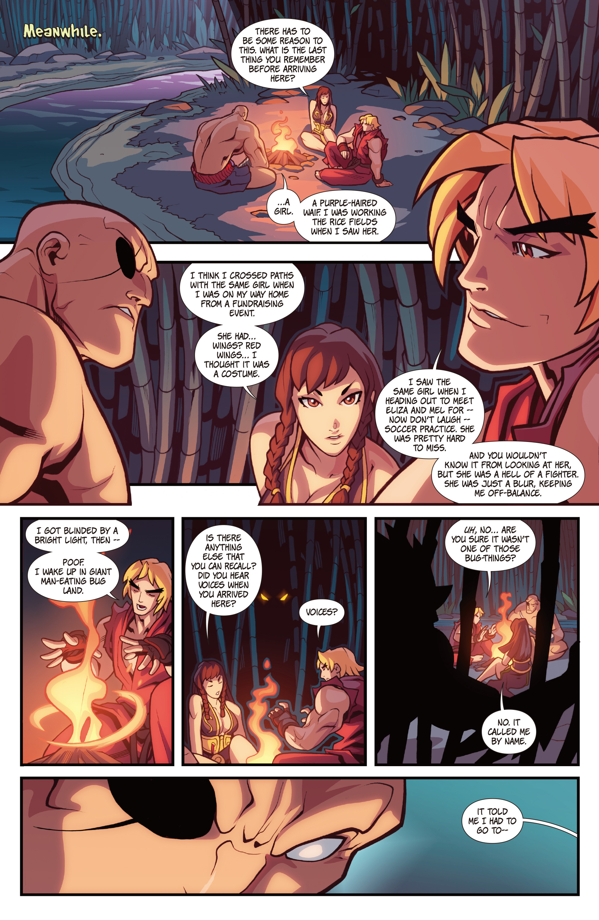 Read online Street Fighter VS Darkstalkers comic -  Issue #1 - 13