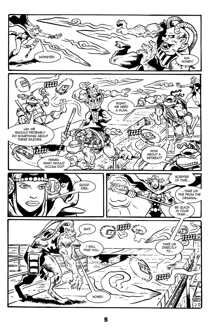 Read online Tales of the TMNT comic -  Issue #71 - 9