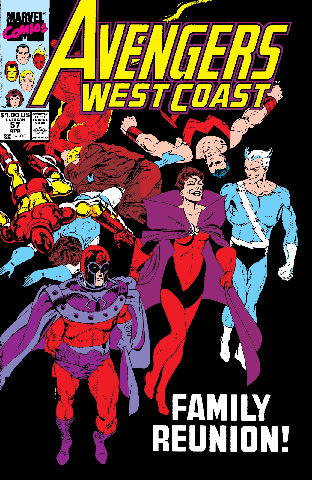 Avengers West Coast (1989) issue 57 - Page 1