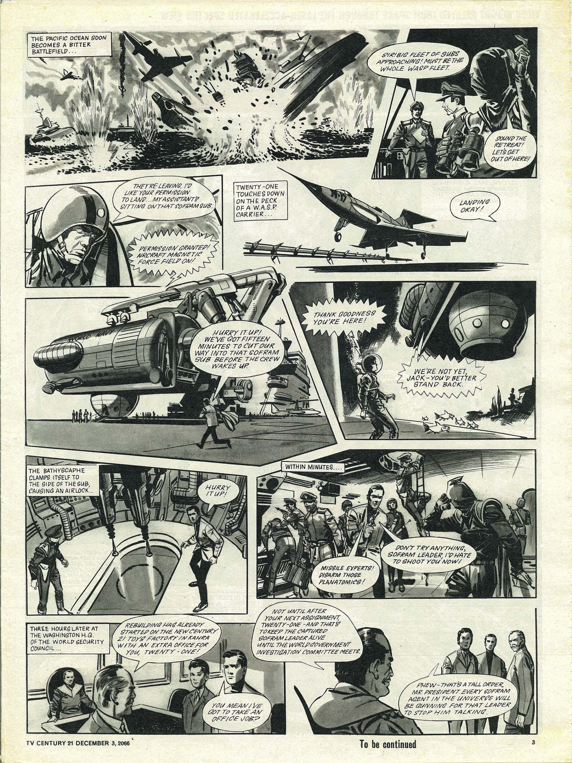 Read online TV Century 21 (TV 21) comic -  Issue #98 - 3
