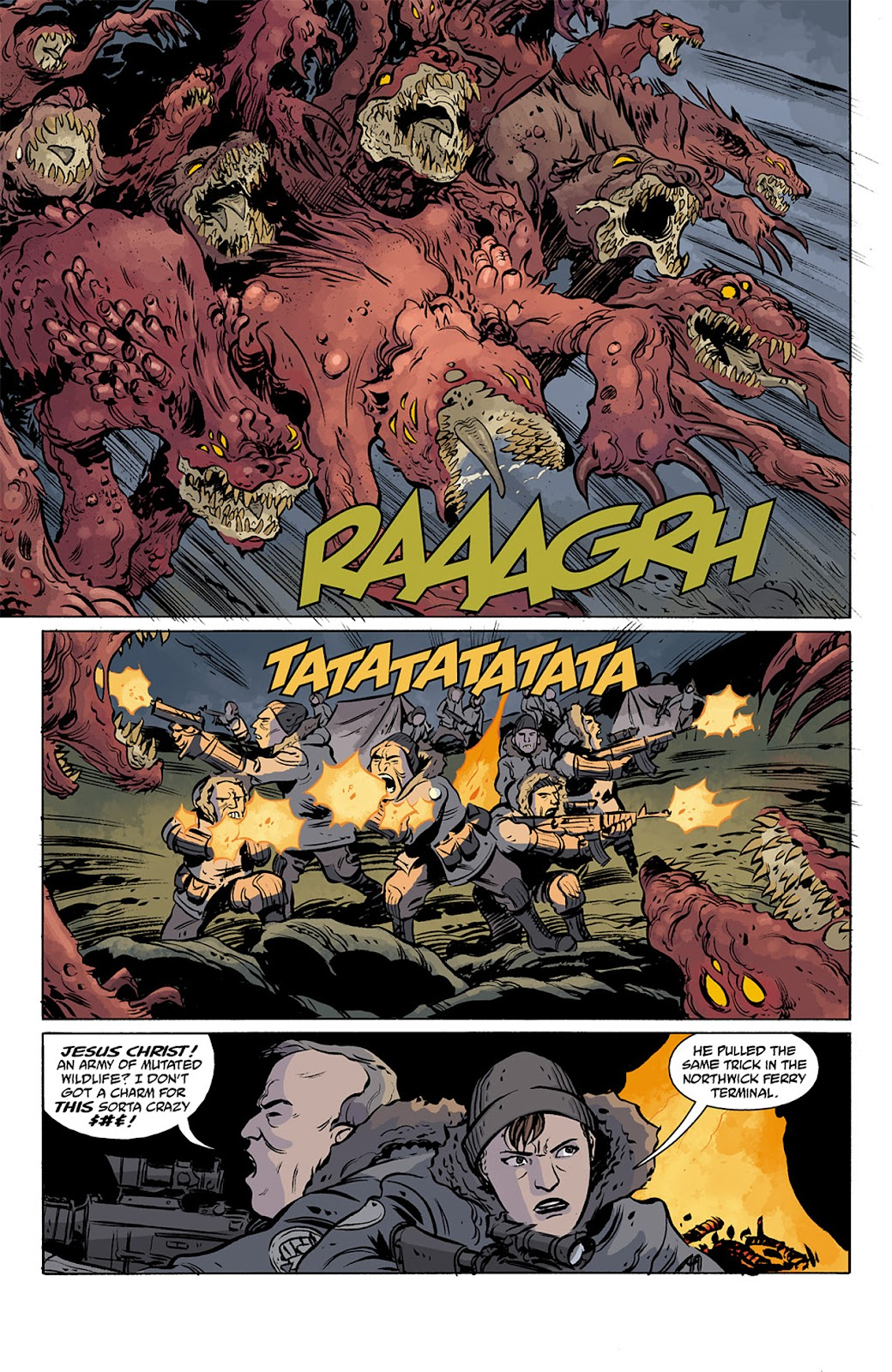 Read online B.P.R.D. Hell on Earth: The Return of the Master comic -  Issue #3 - 8