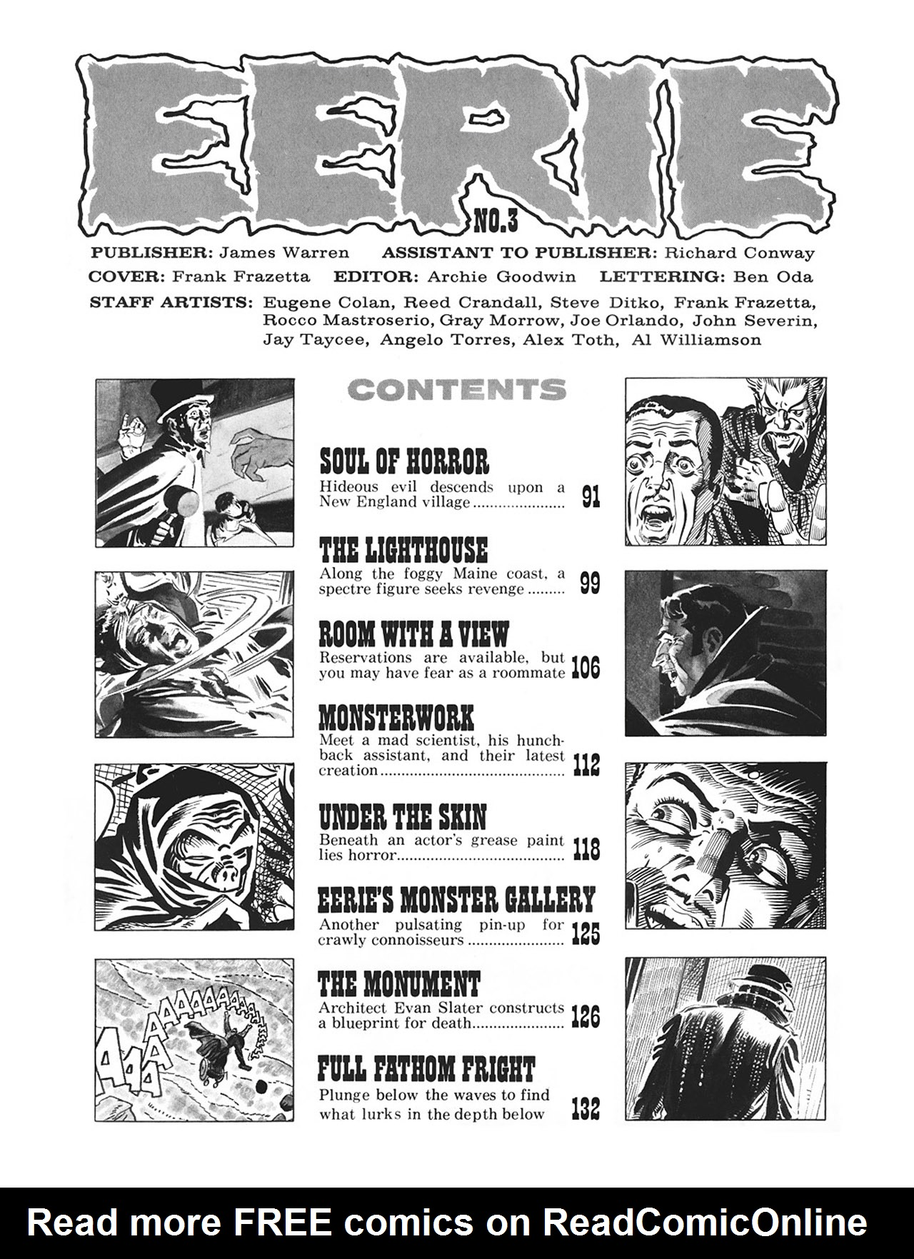 Read online Eerie Archives comic -  Issue # TPB 1 - 90