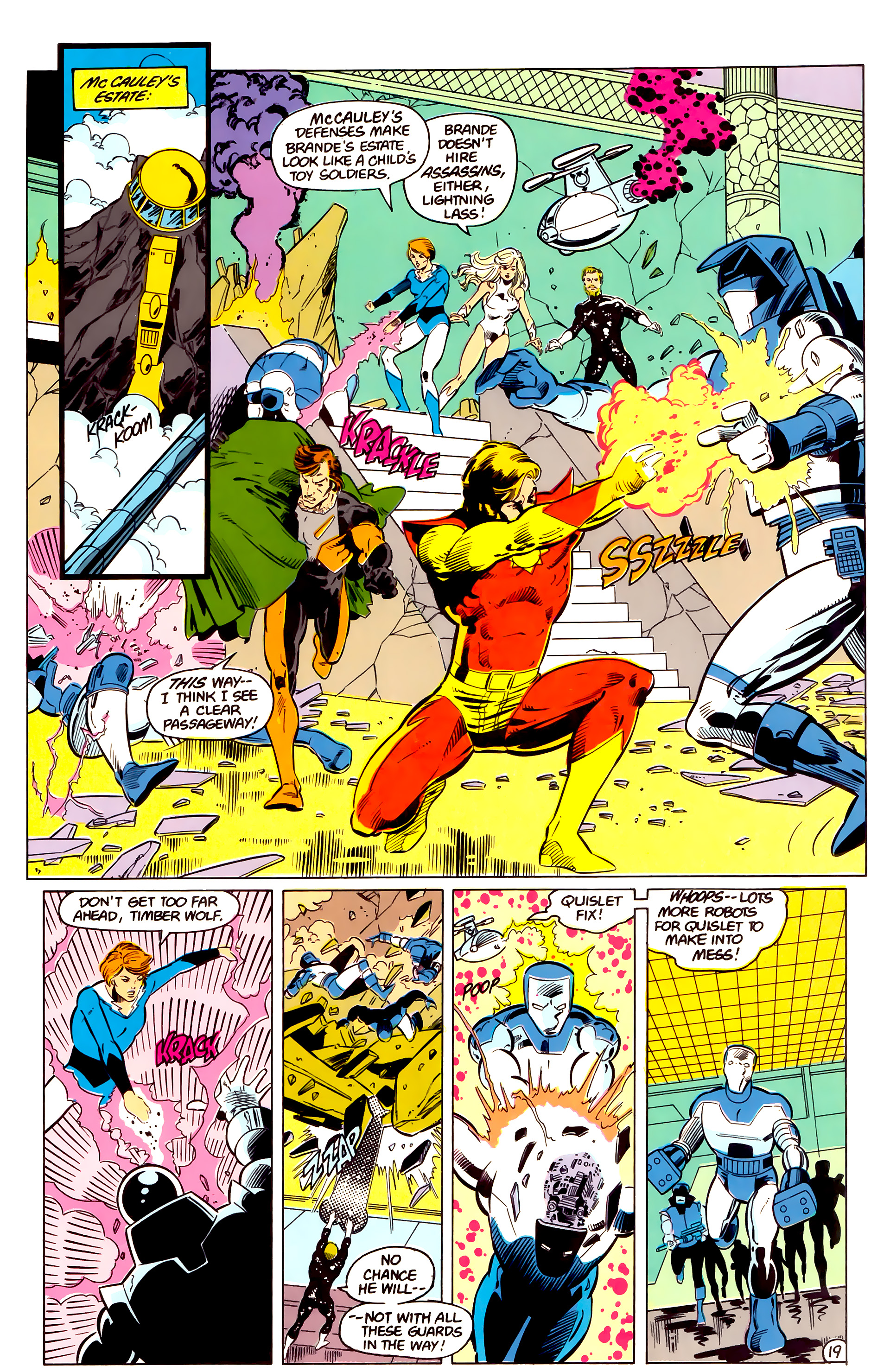 Legion of Super-Heroes (1984) 17 Page 20