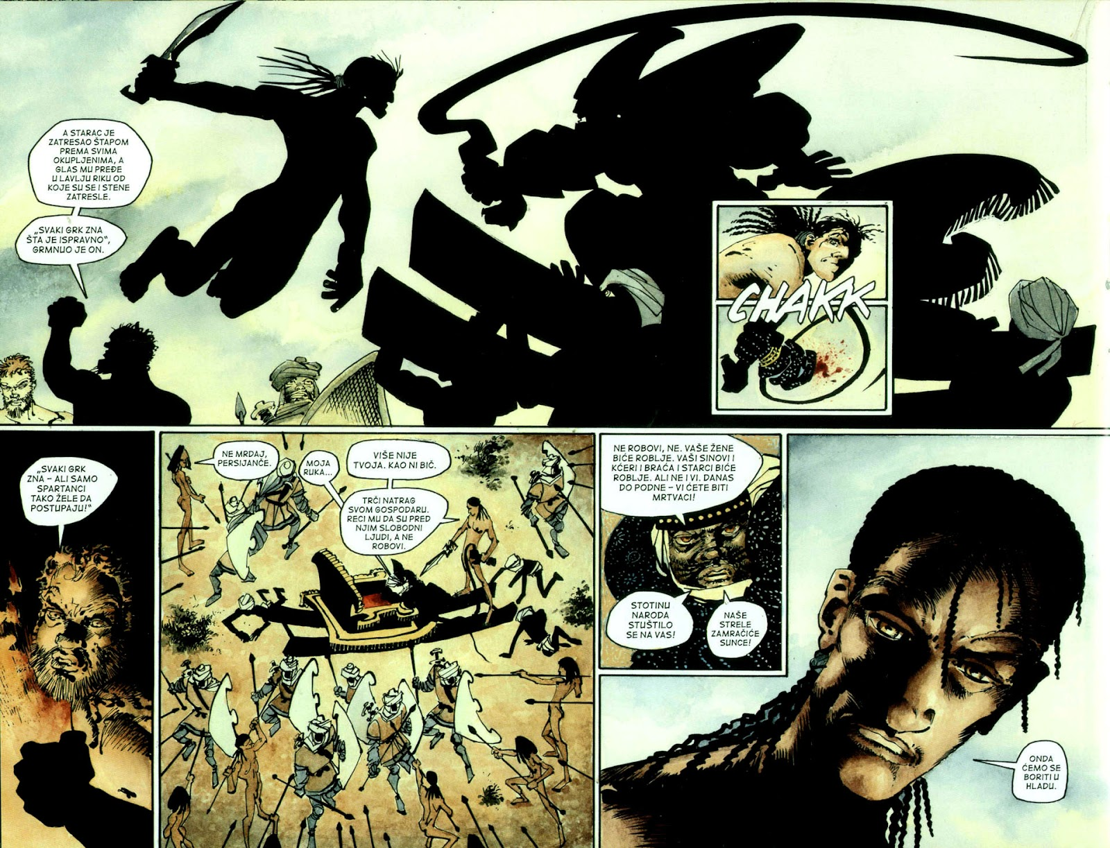 Read online 300 (2007) comic -  Issue # TPB - 41