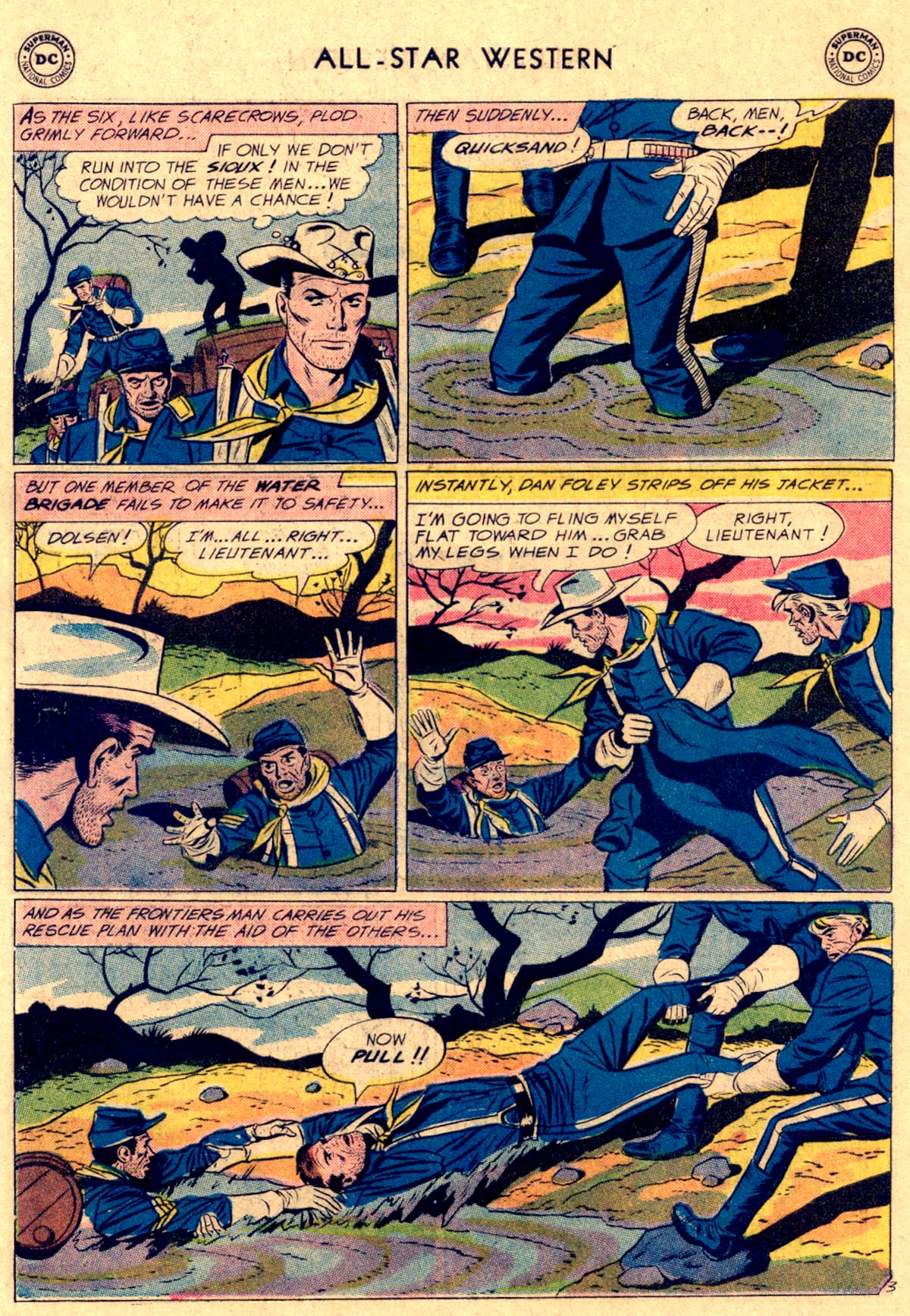 Read online All-Star Western (1951) comic -  Issue #112 - 18