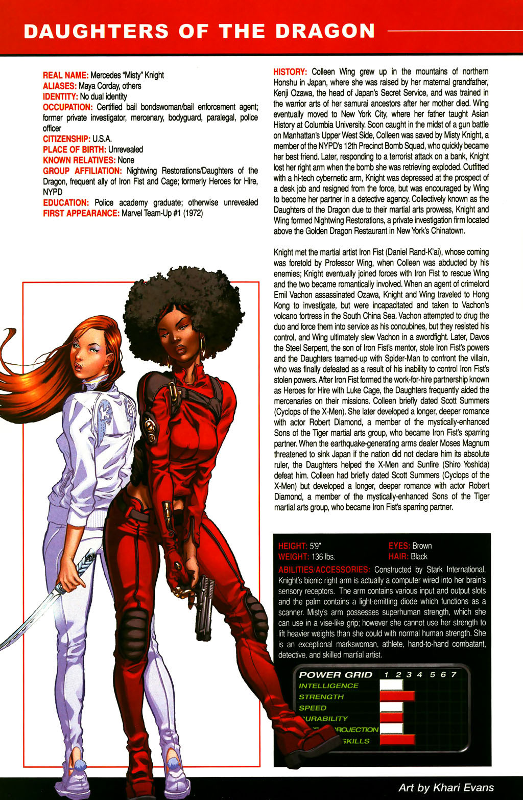 Read online All-New Official Handbook of the Marvel Universe A to Z comic -  Issue #3 - 22