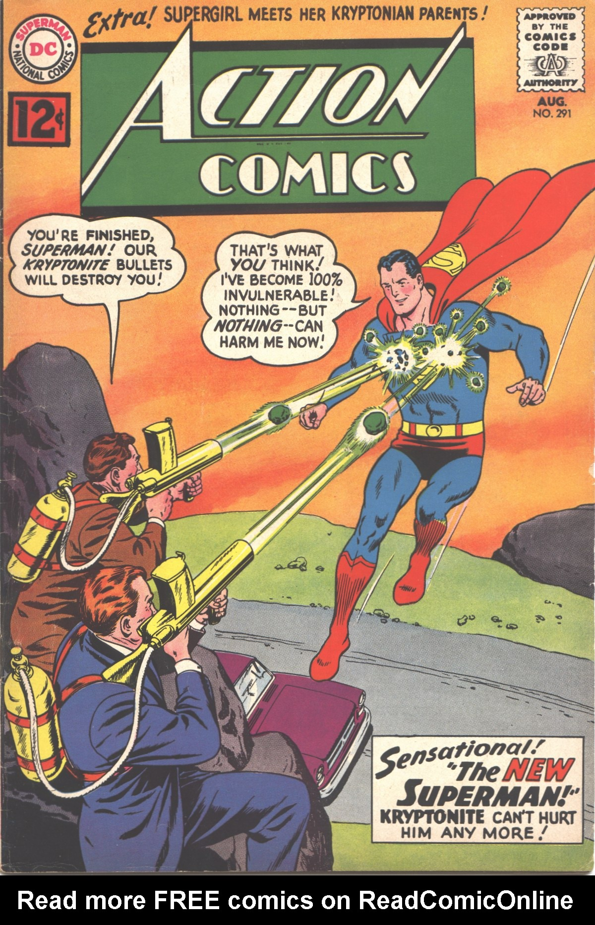 Read online Action Comics (1938) comic -  Issue #291 - 1