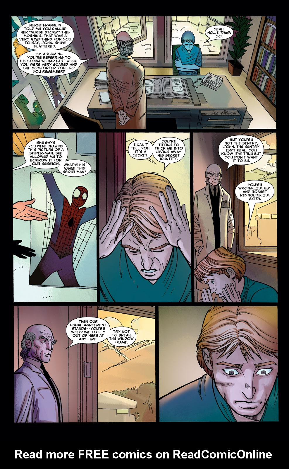 Read online Sentry (2006) comic -  Issue #7 - 9