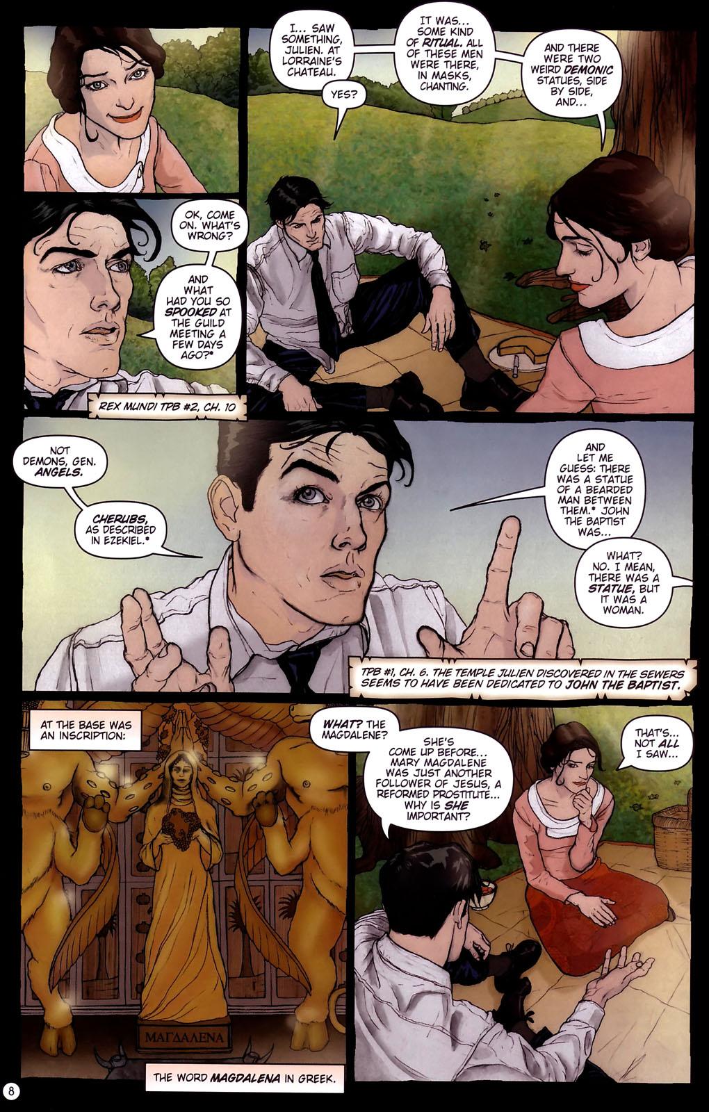Read online Rex Mundi comic -  Issue #14 - 12