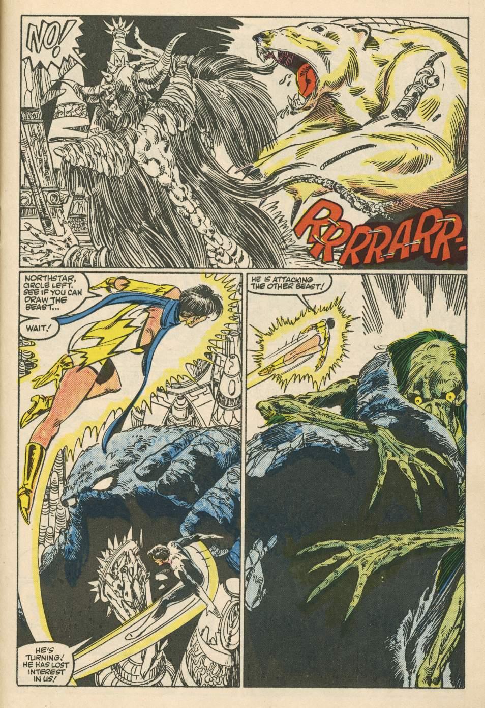 Read online Alpha Flight (1983) comic -  Issue #24 - 23