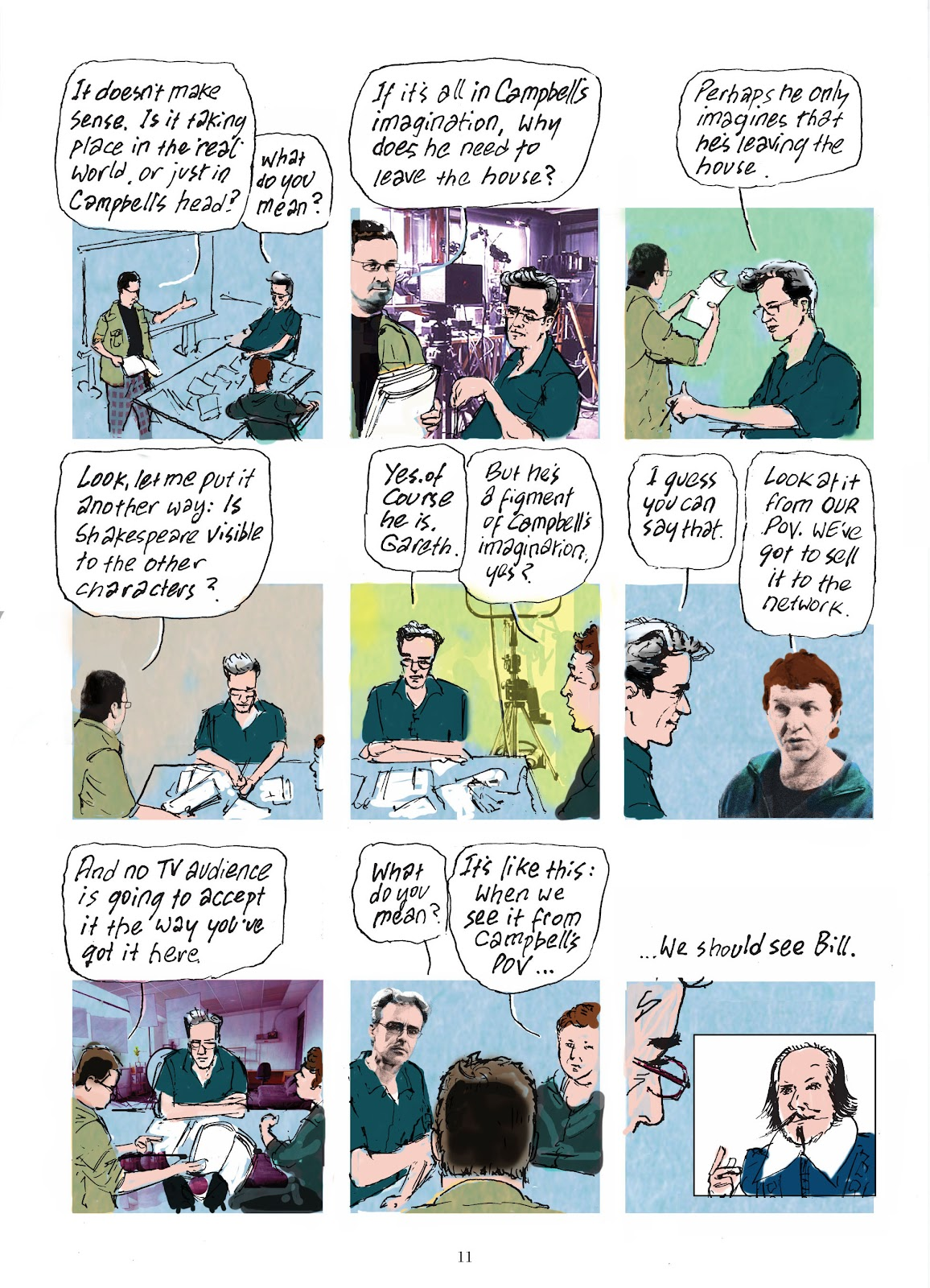 Read online The Lovely Horrible Stuff comic -  Issue # TPB - 13