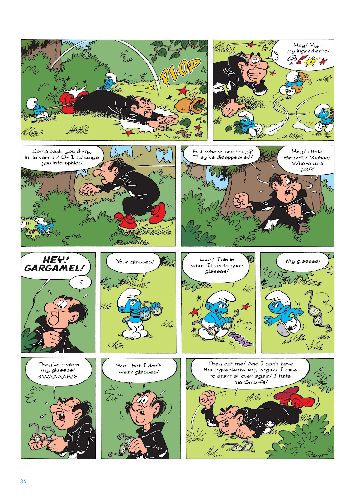 Read online The Smurfs comic -  Issue #16 - 37