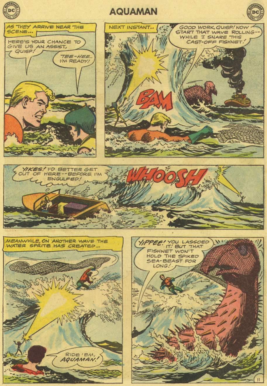 Read online Aquaman (1962) comic -  Issue #7 - 15