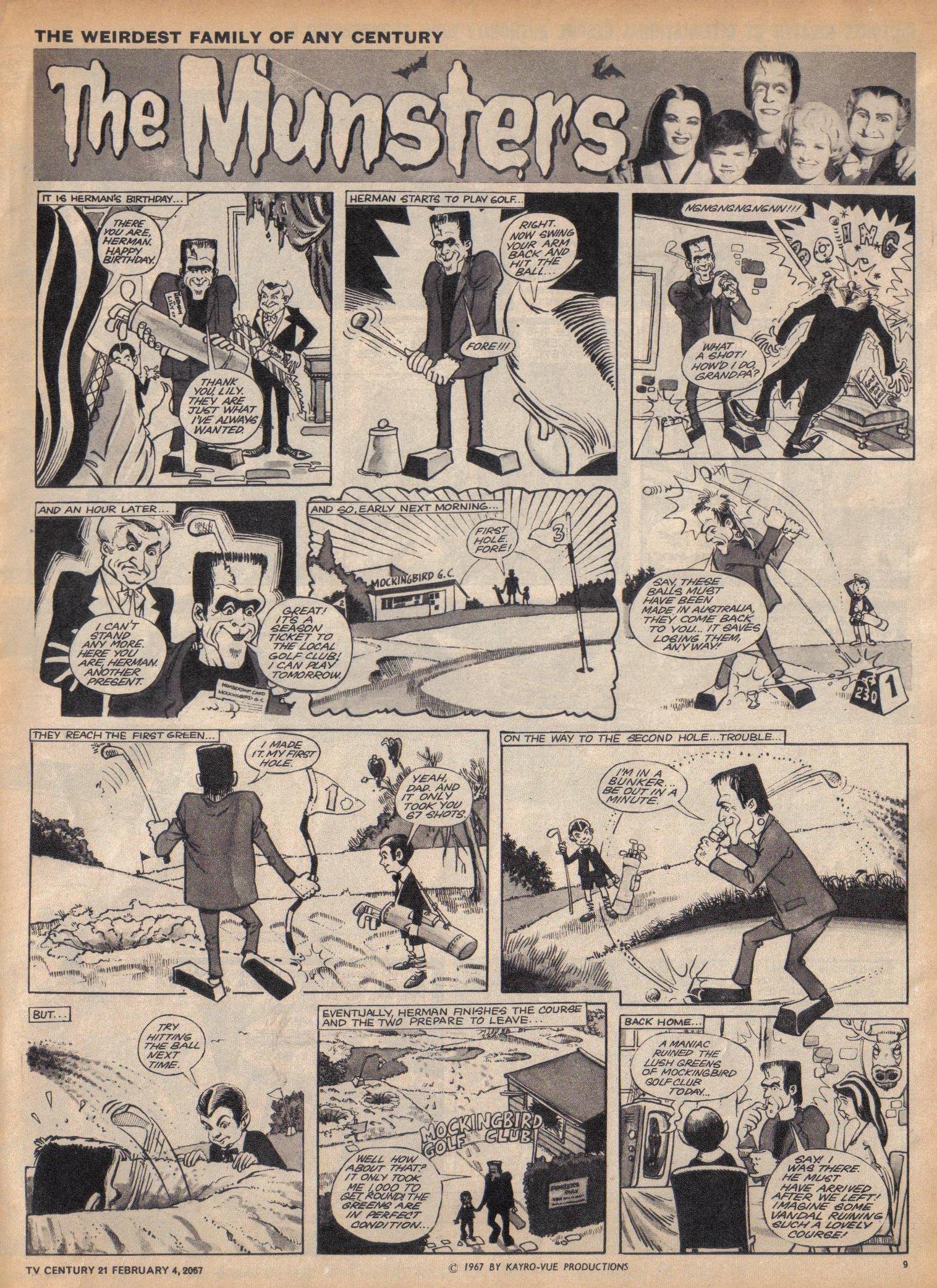 Read online TV Century 21 (TV 21) comic -  Issue #107 - 9