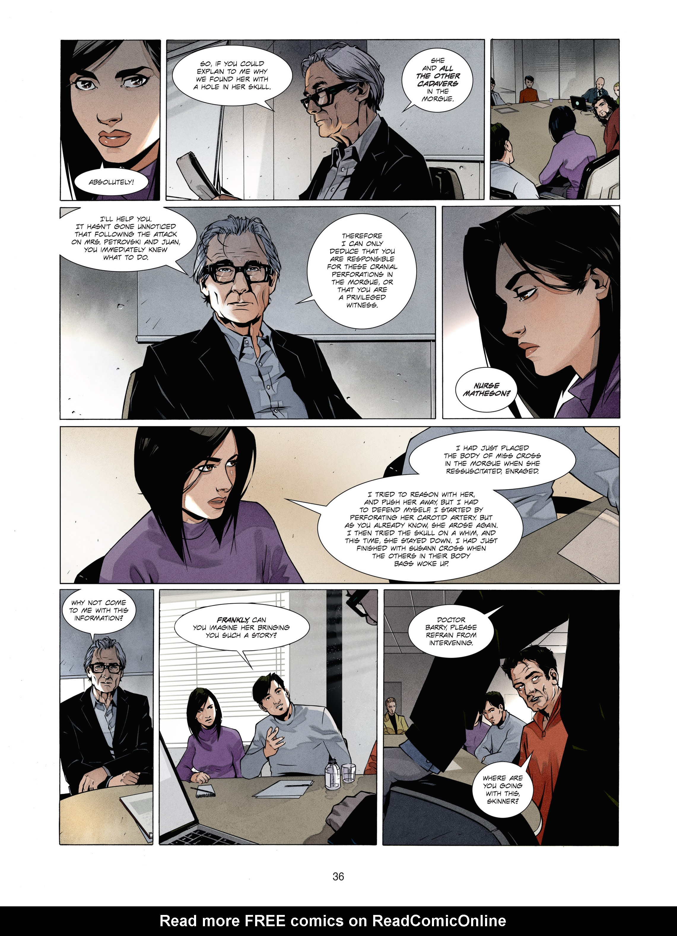 Read online Alice Matheson comic -  Issue #1 - 35