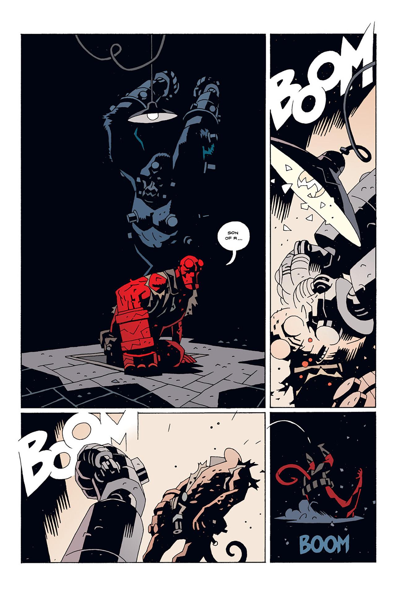 Read online Hellboy: Conqueror Worm comic -  Issue #1 - 30