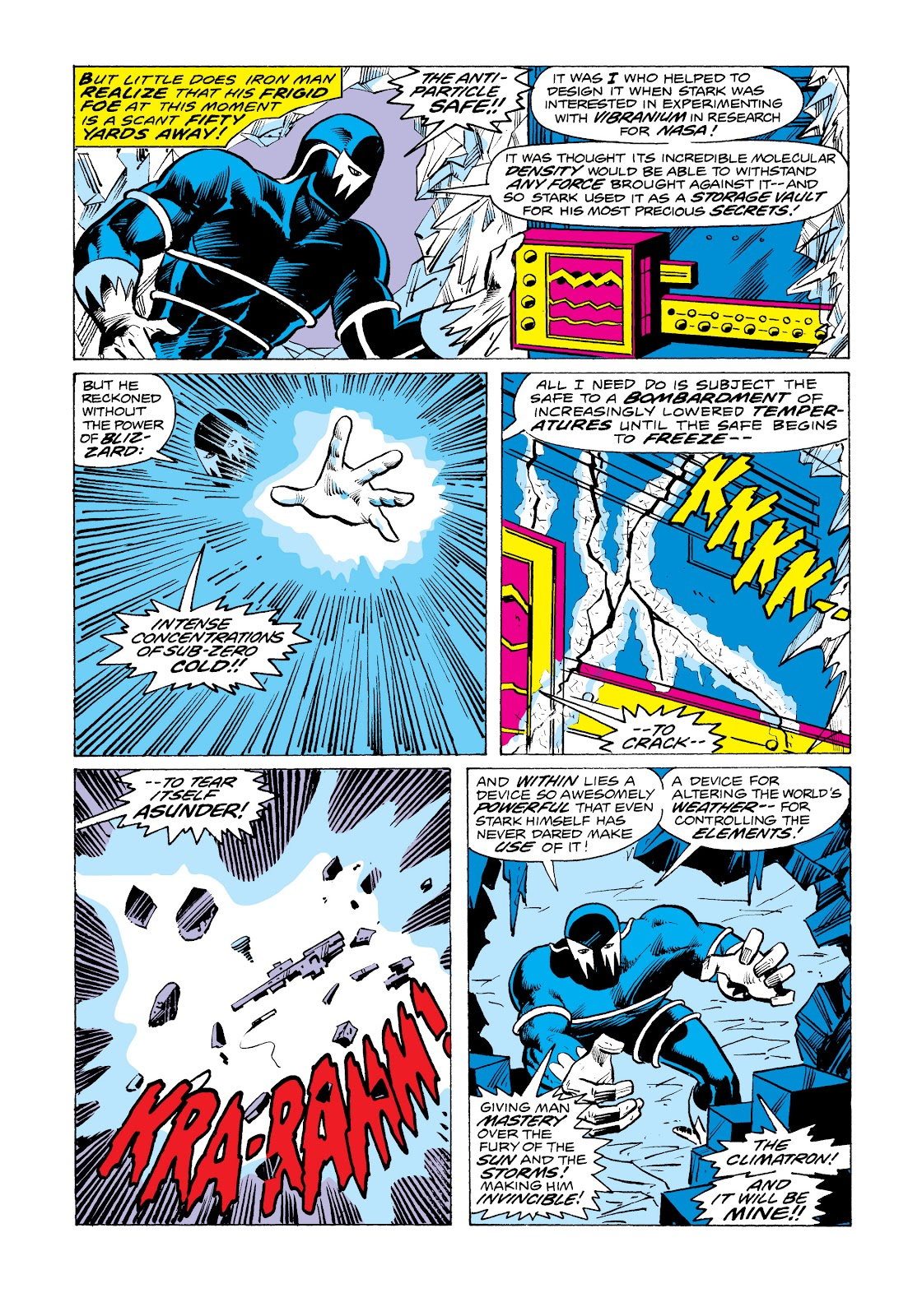 Read online Marvel Masterworks: The Invincible Iron Man comic -  Issue # TPB 11 (Part 1) - 95