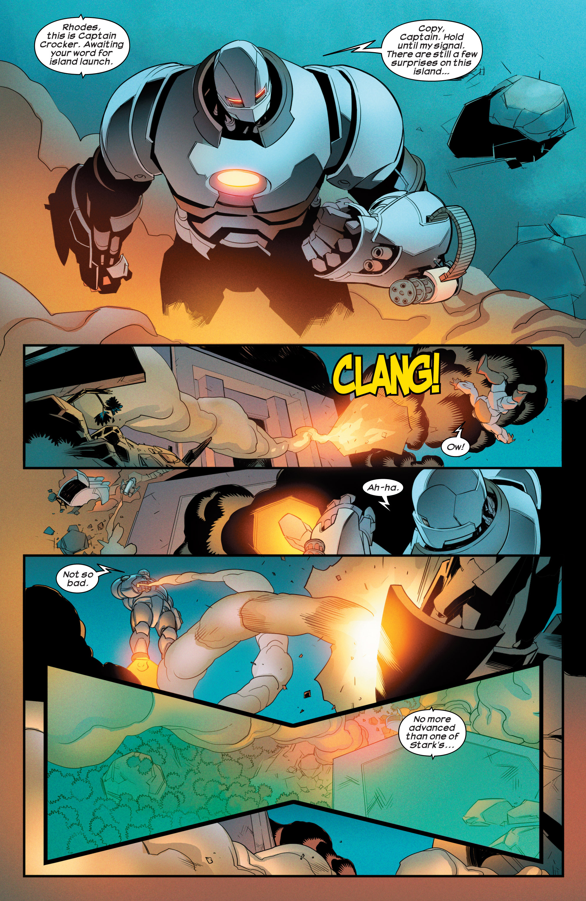 Read online Ultimate Comics Iron Man comic -  Issue #4 - 12