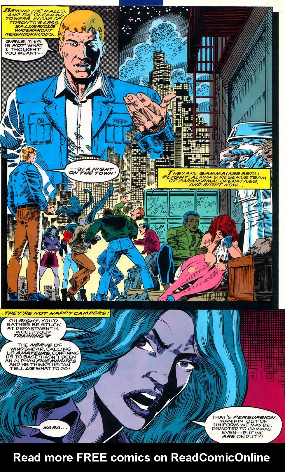 Read online Alpha Flight (1983) comic -  Issue #110 - 14