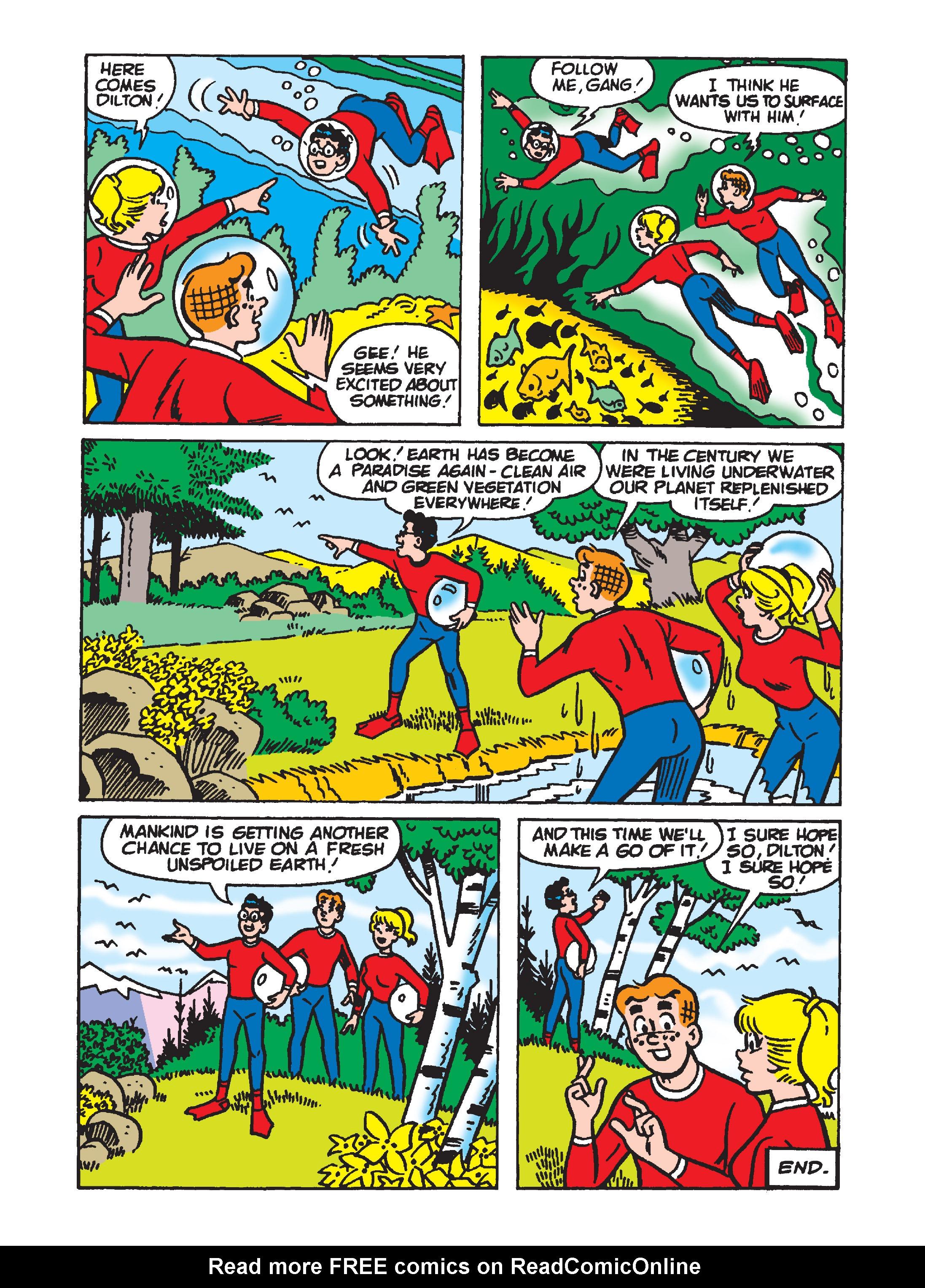 Read online Archie 1000 Page Comics Bonanza comic -  Issue #2 (Part 1) - 146
