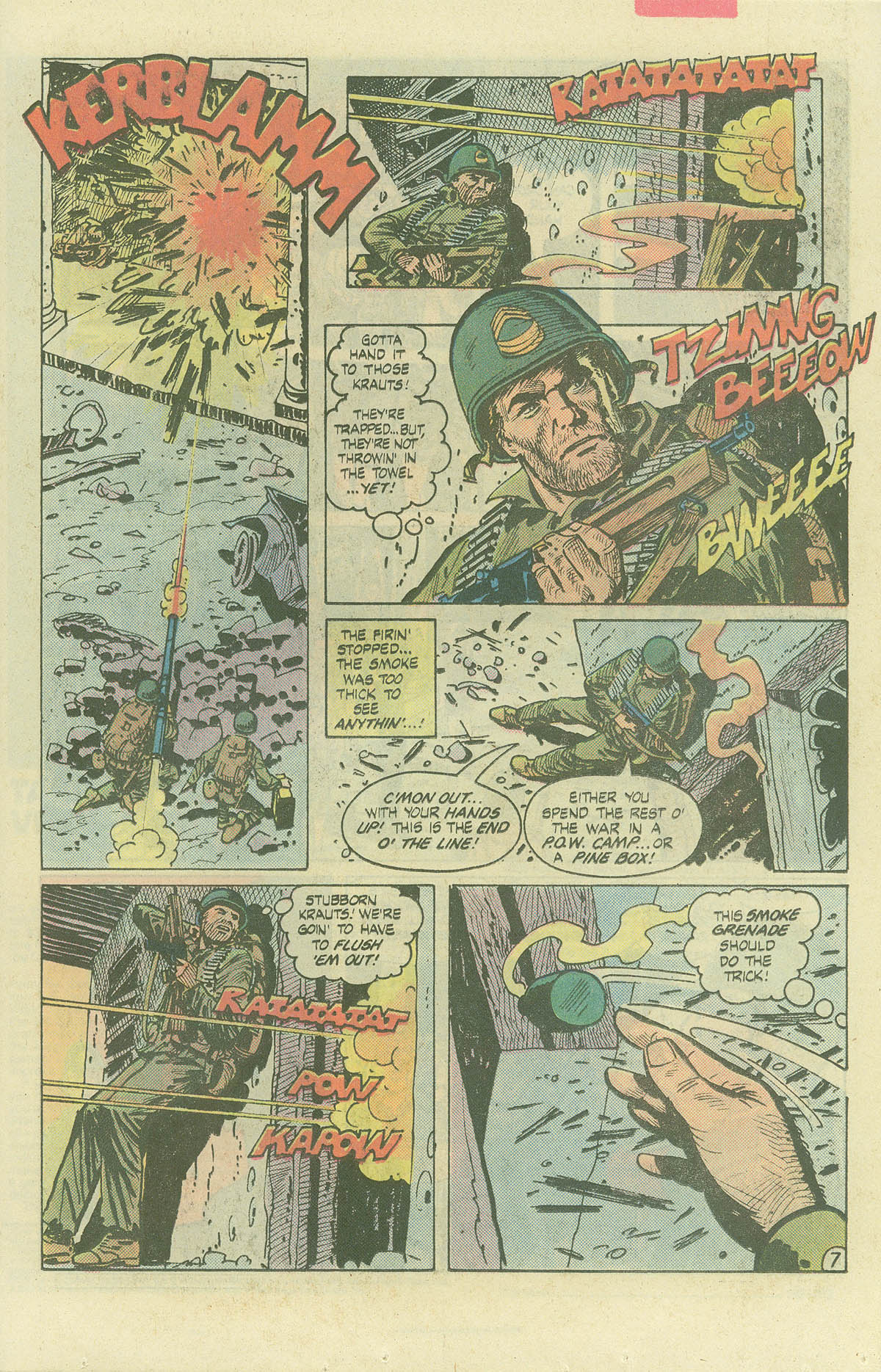Read online Sgt. Rock comic -  Issue #382 - 10