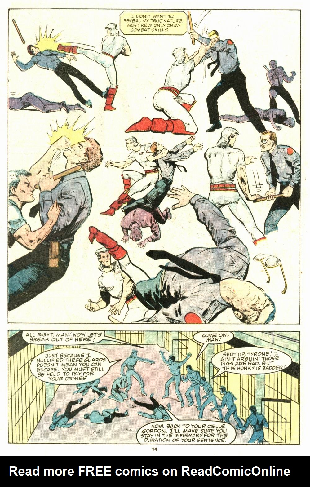 Read online Justice (1986) comic -  Issue #8 - 15