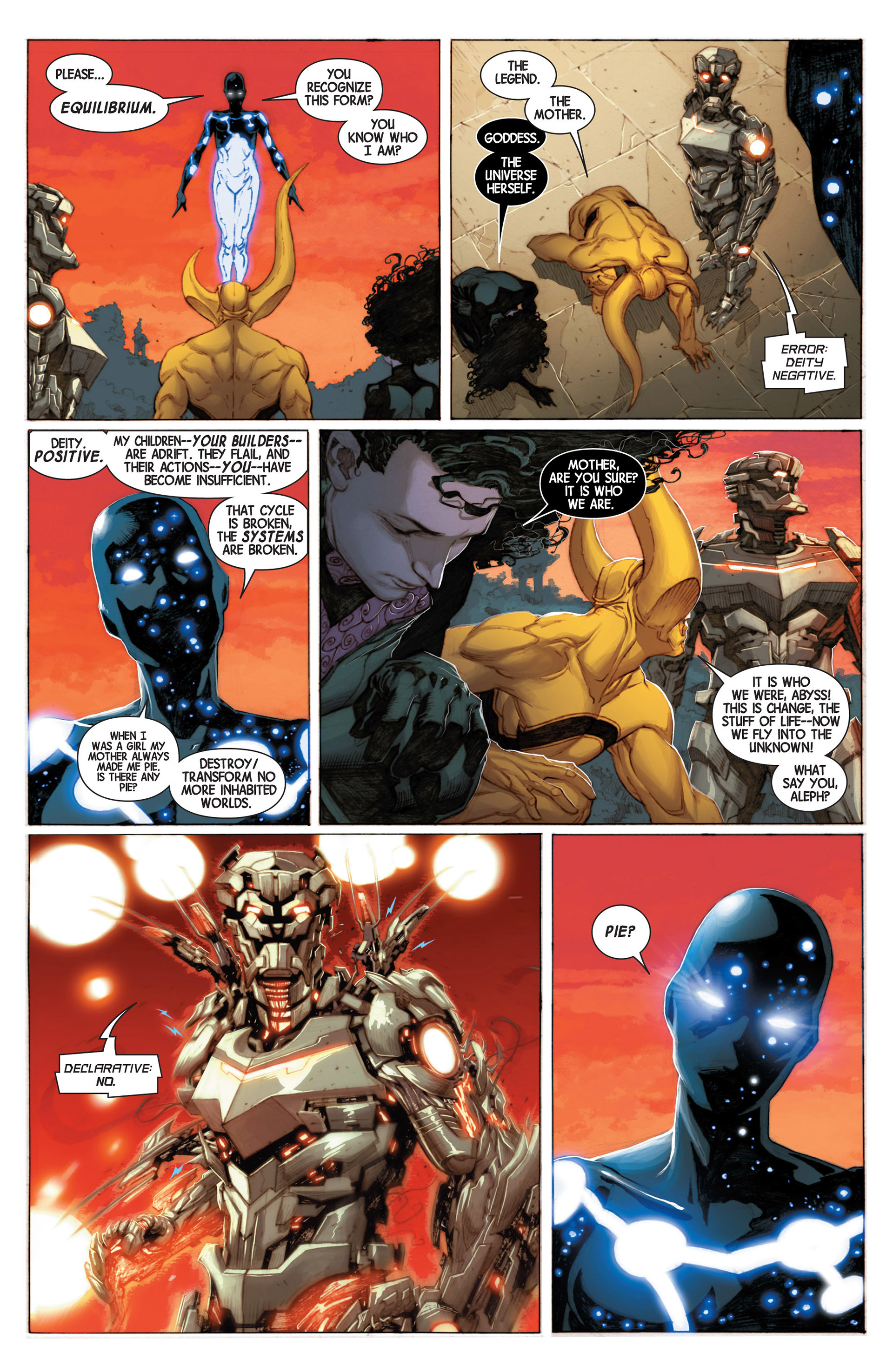 Read online Avengers (2013) comic -  Issue #3 - 21