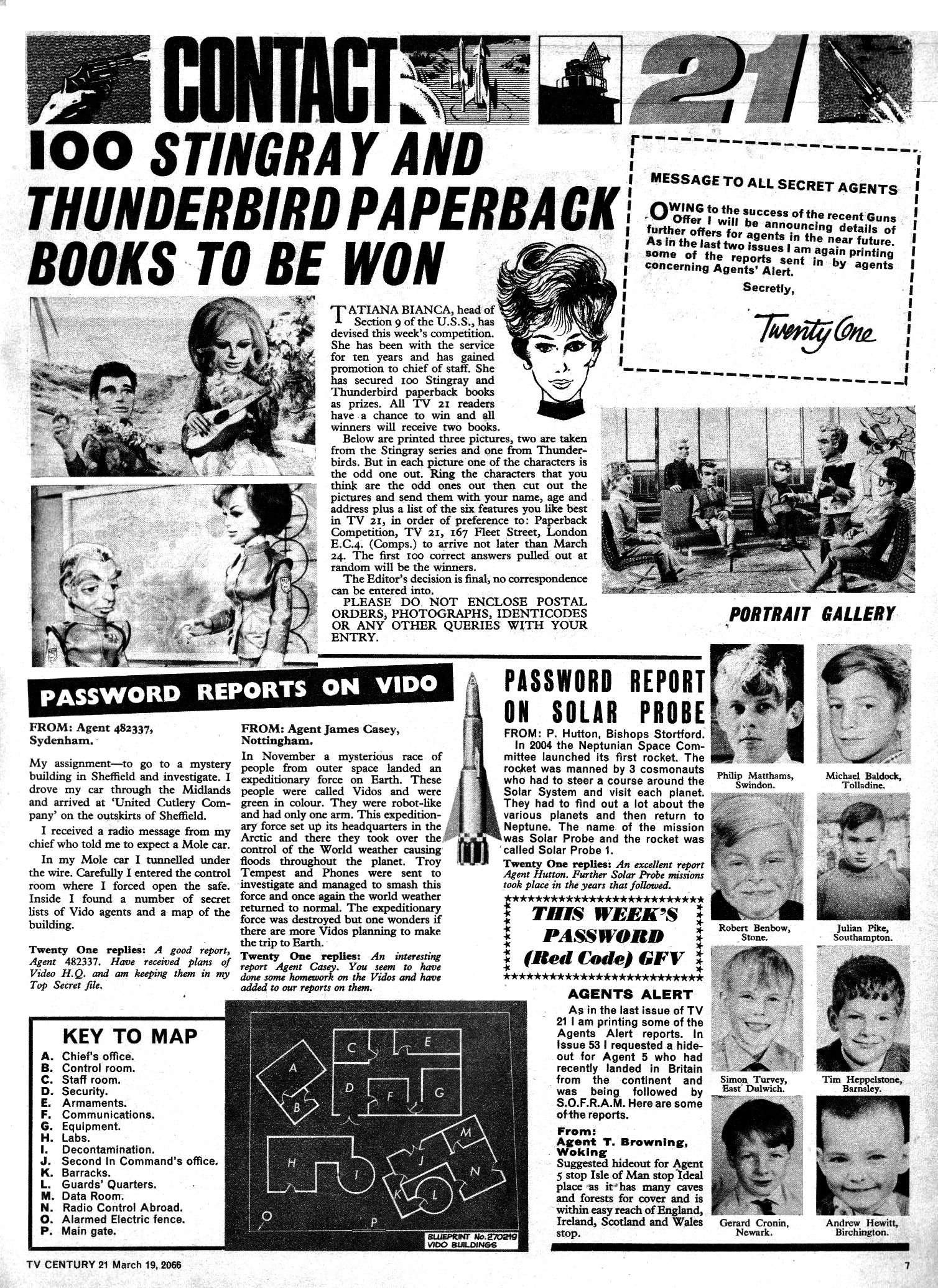 Read online TV Century 21 (TV 21) comic -  Issue #61 - 7
