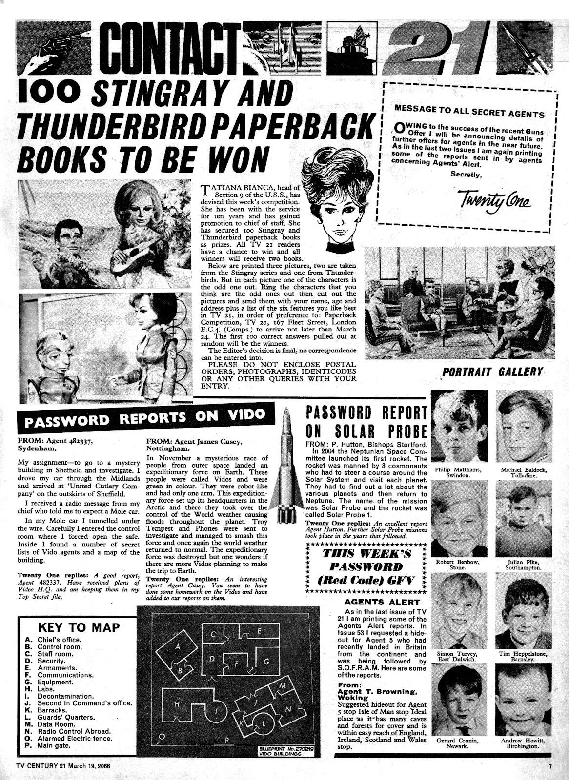 TV Century 21 (TV 21) issue 61 - Page 7