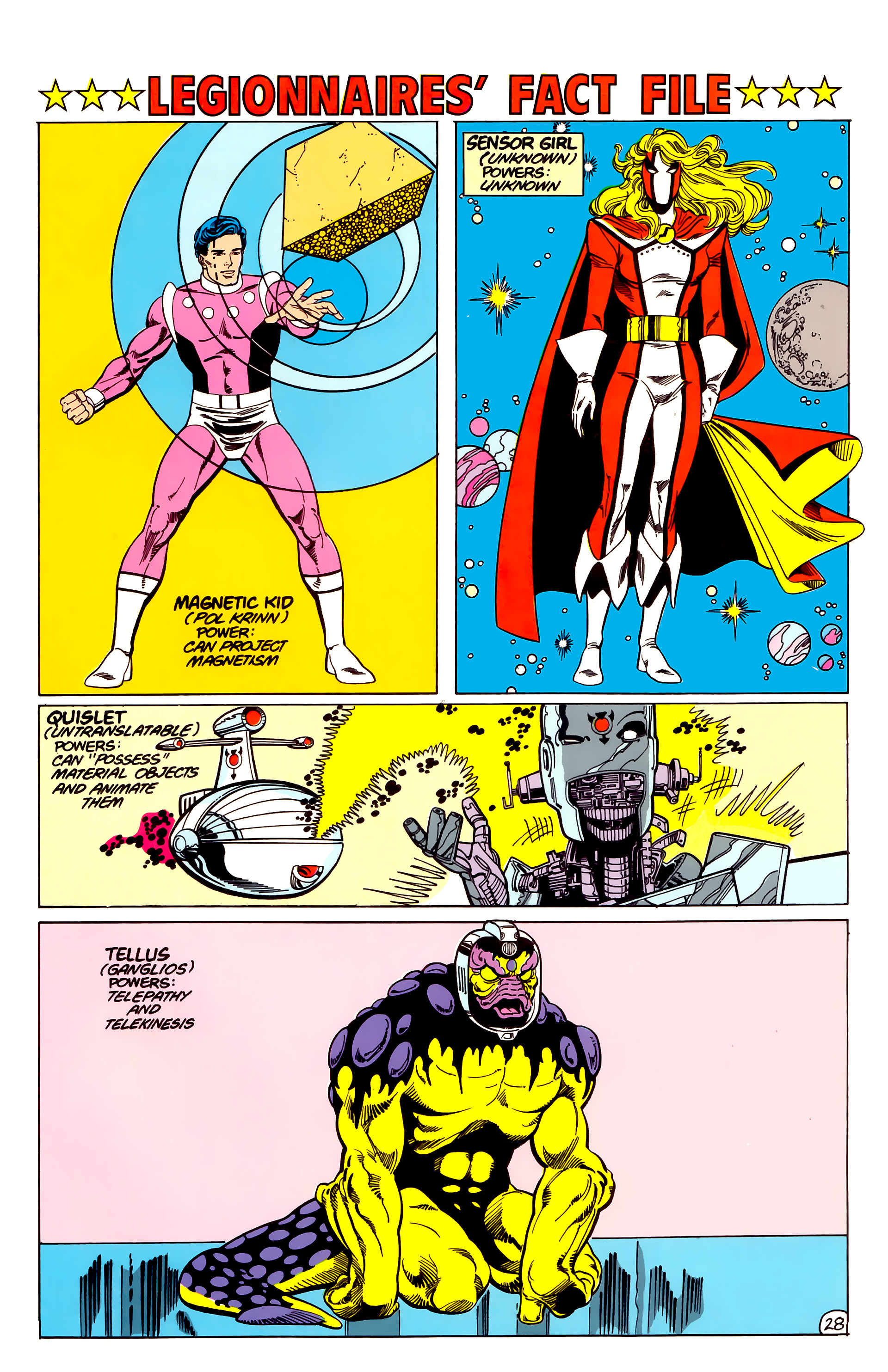 Legion of Super-Heroes (1984) 17 Page 29